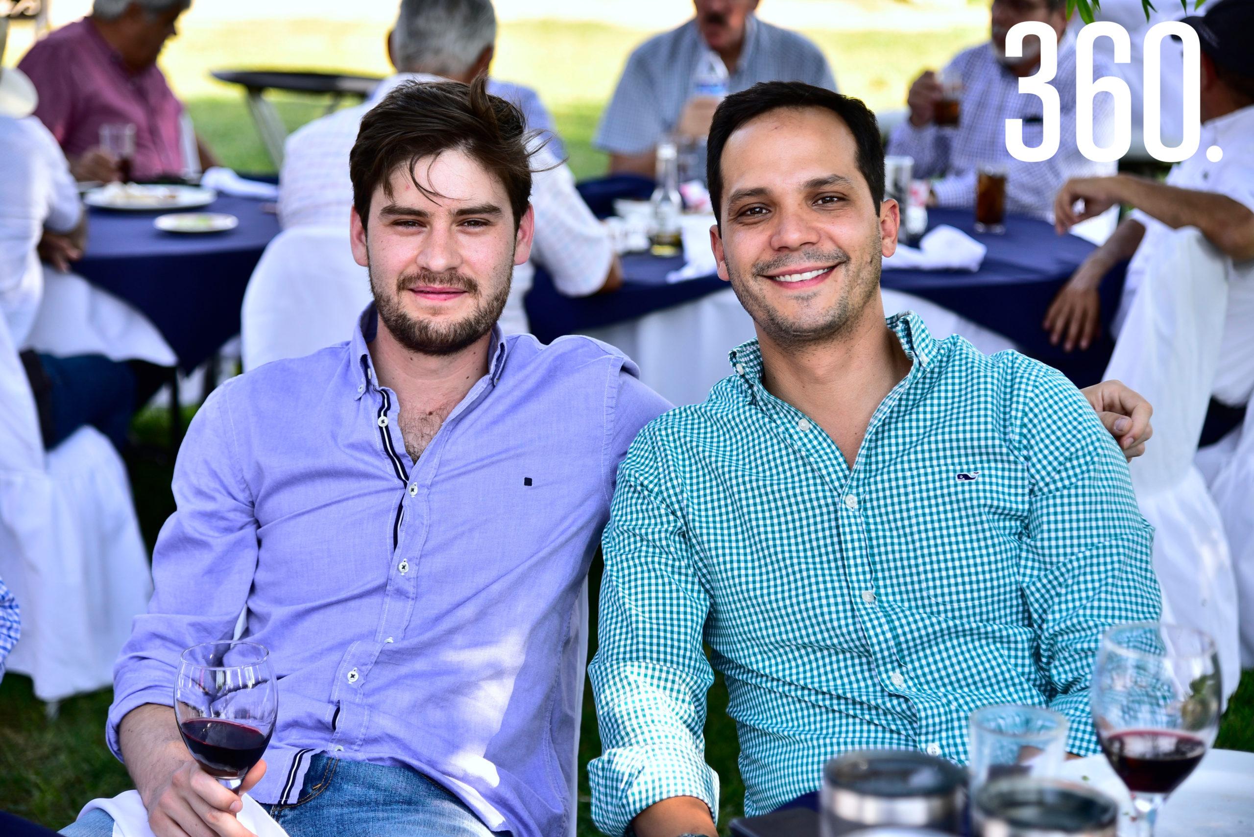 Rodrigo Herrera y Ricardo Cabello.