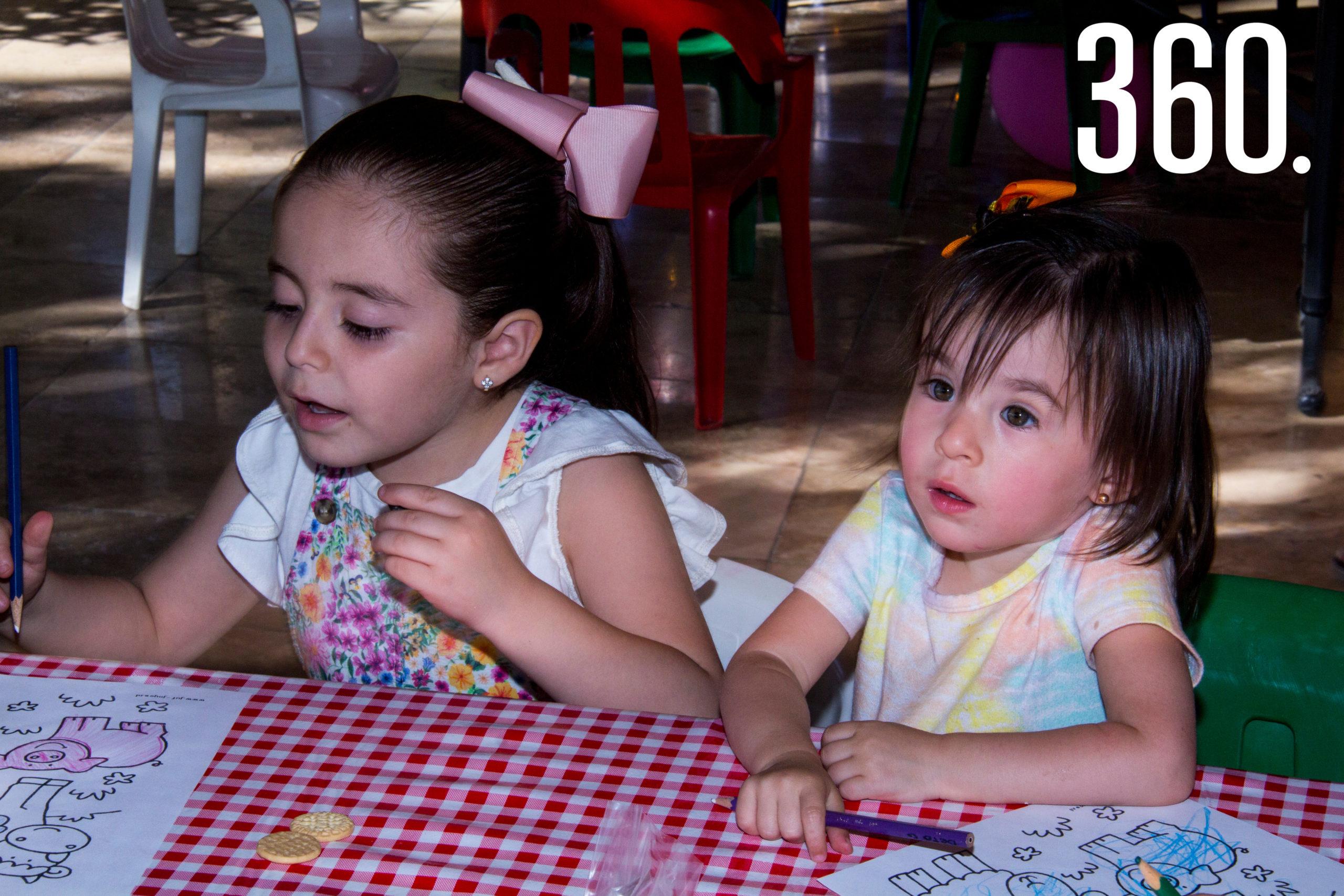 Ana Sofía Benavides y Marian Alanís.