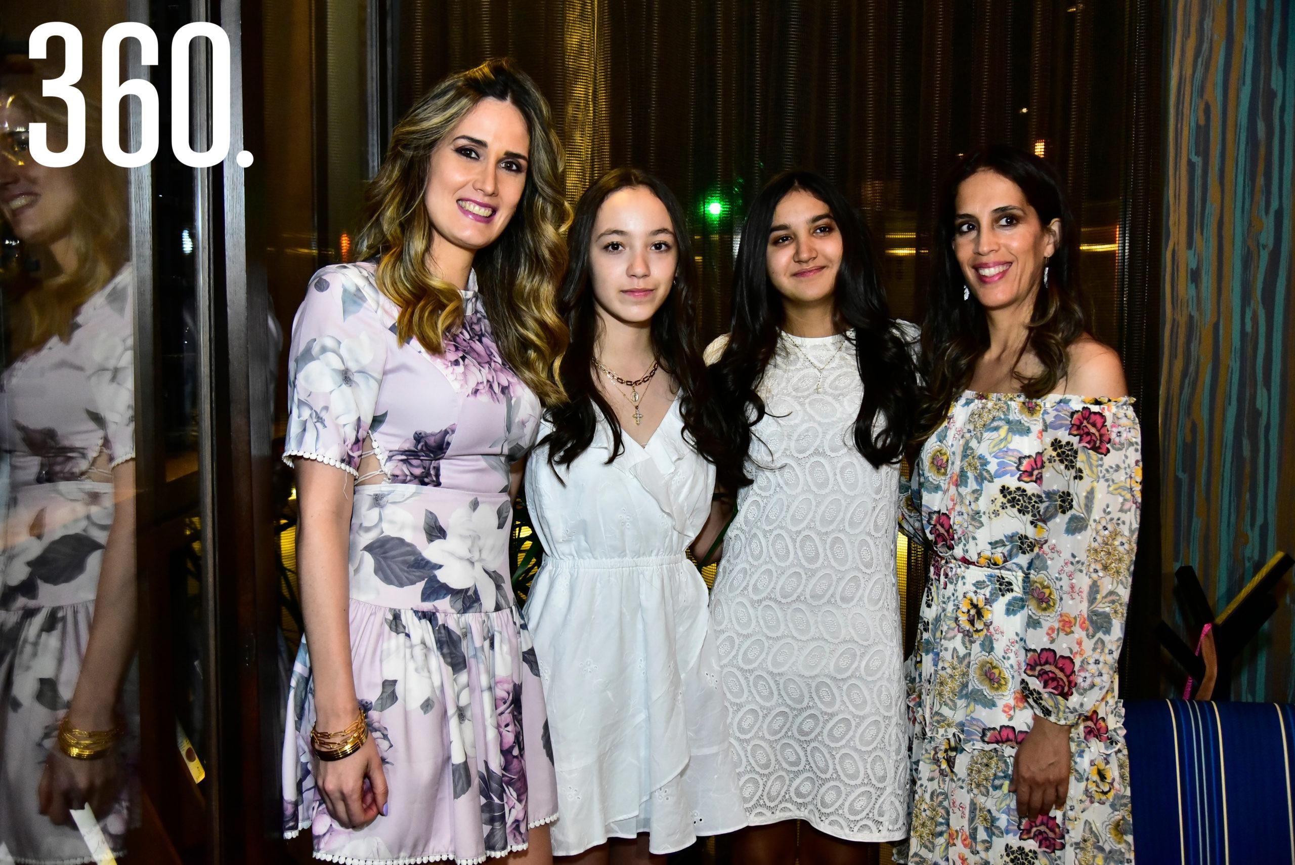Bárbara Bichara, Rosario Sánchez, Regina Delgado y Mónica Haro.