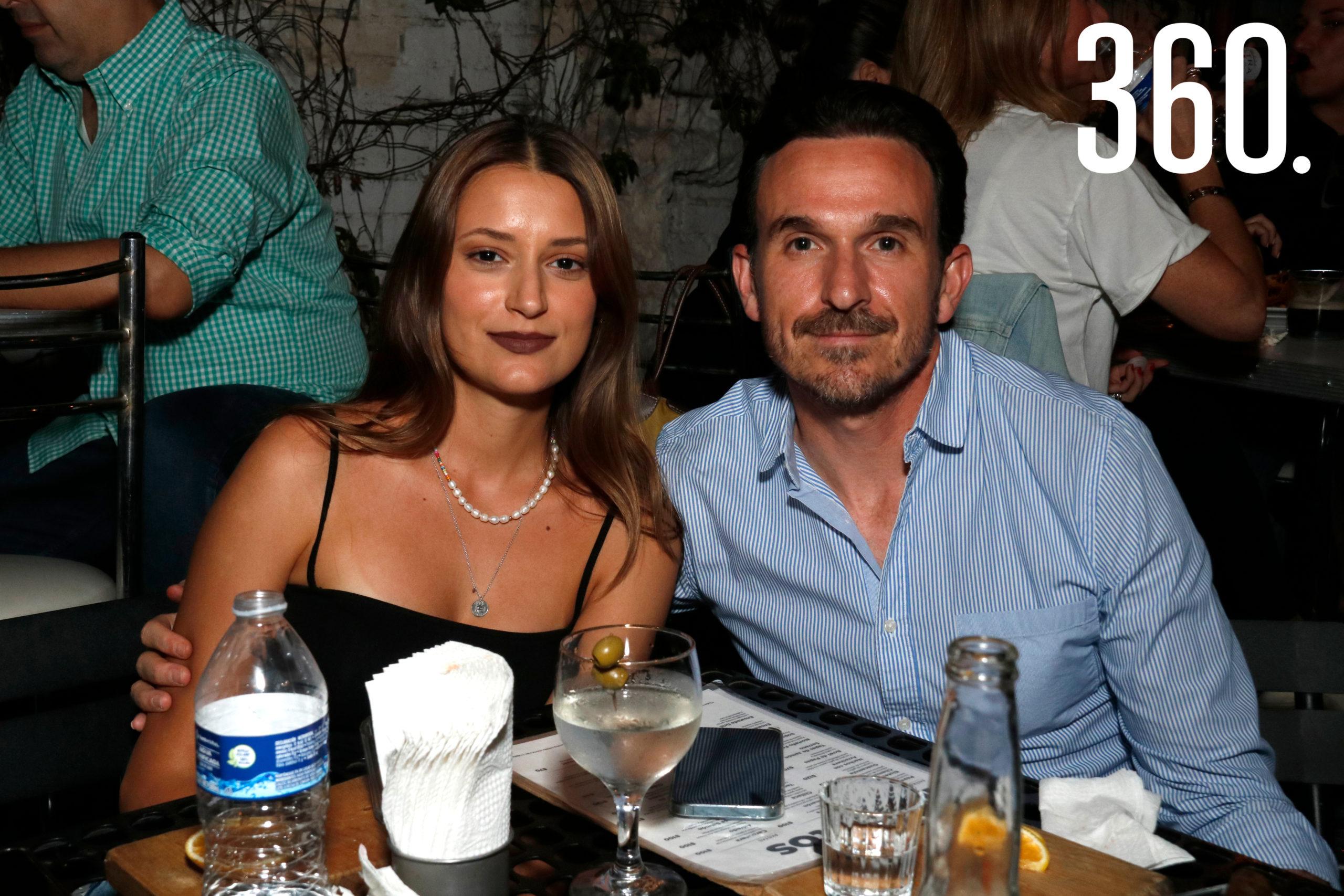 Fernanda Espinosa y Ricardo García.