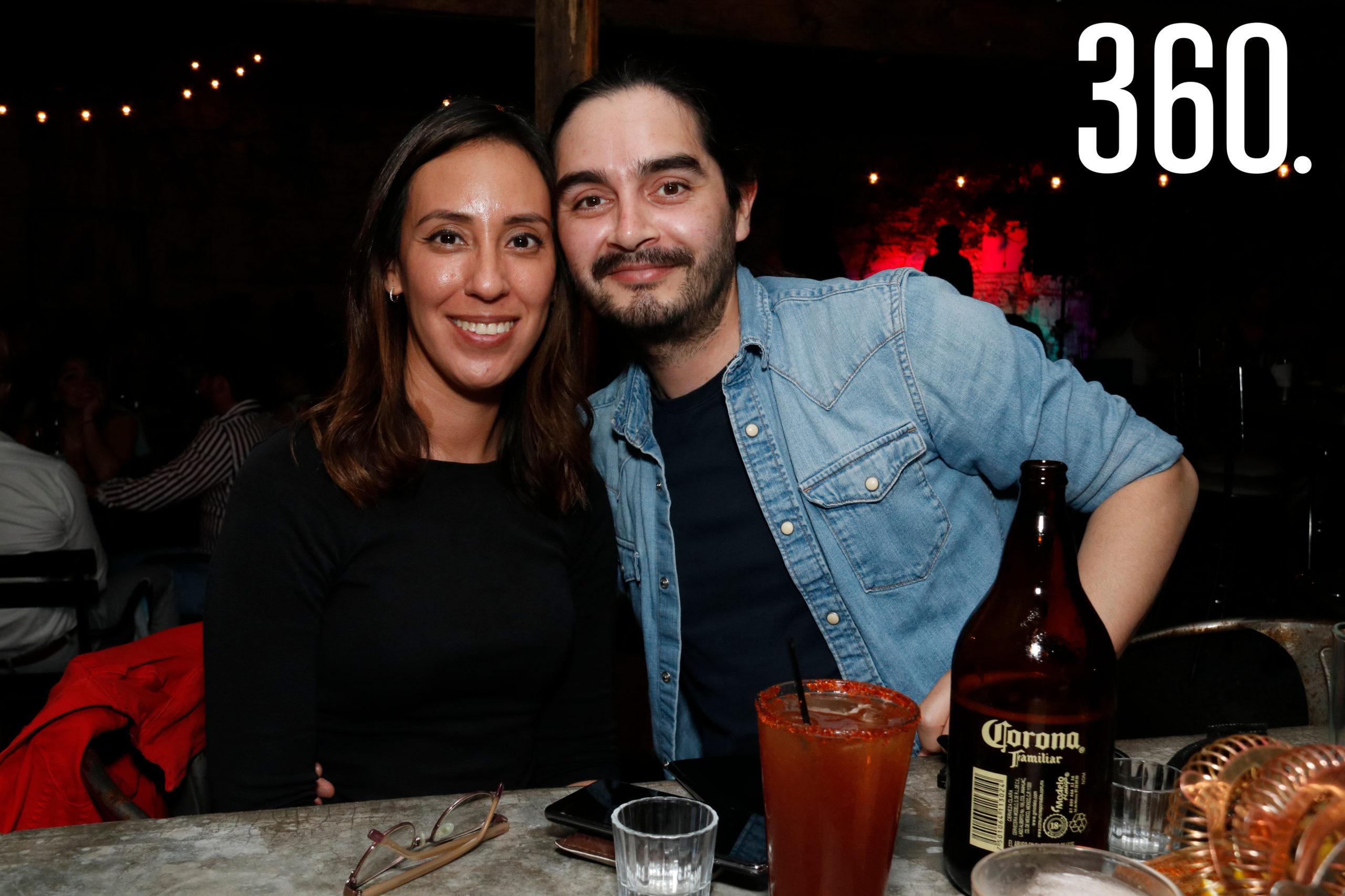 Alicia Varela y William Álvarez.