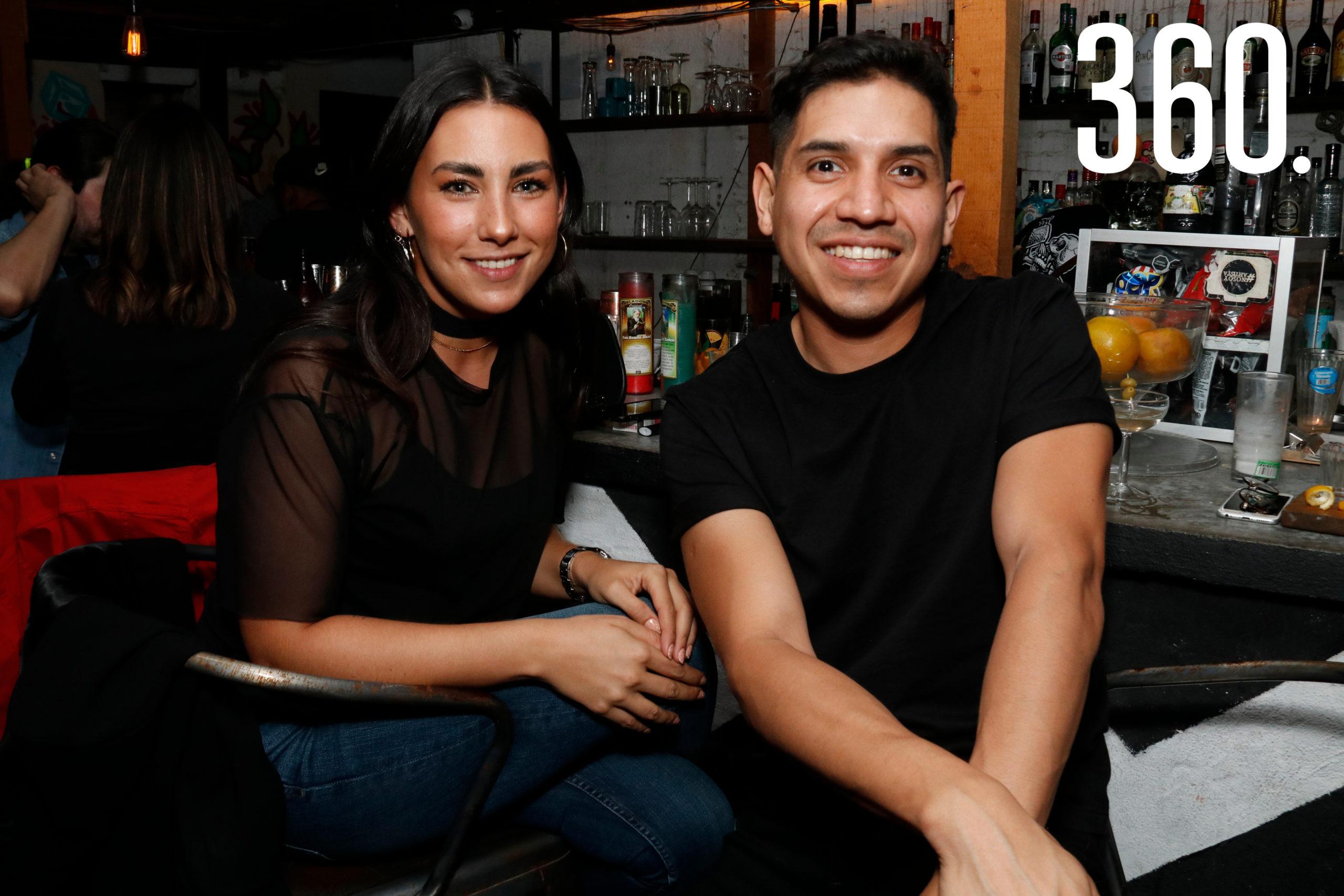 Luisa Aragón y Jorge Soto.