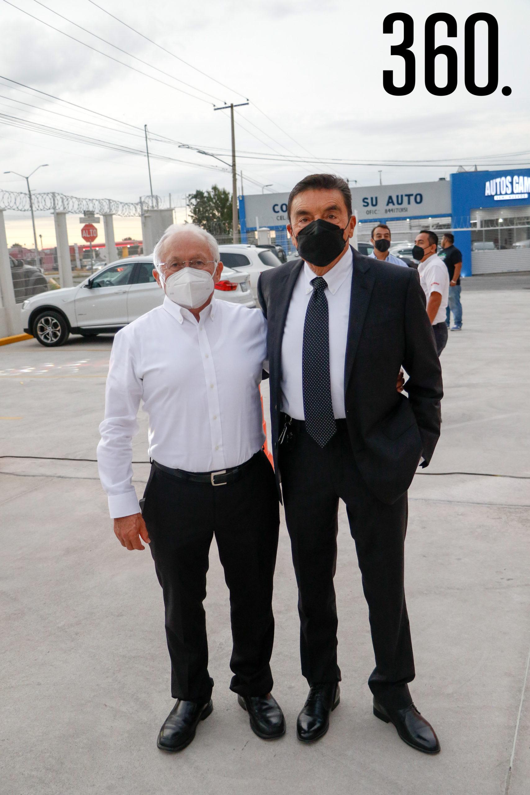 Andrés Vázquez y Ramiro Parra.