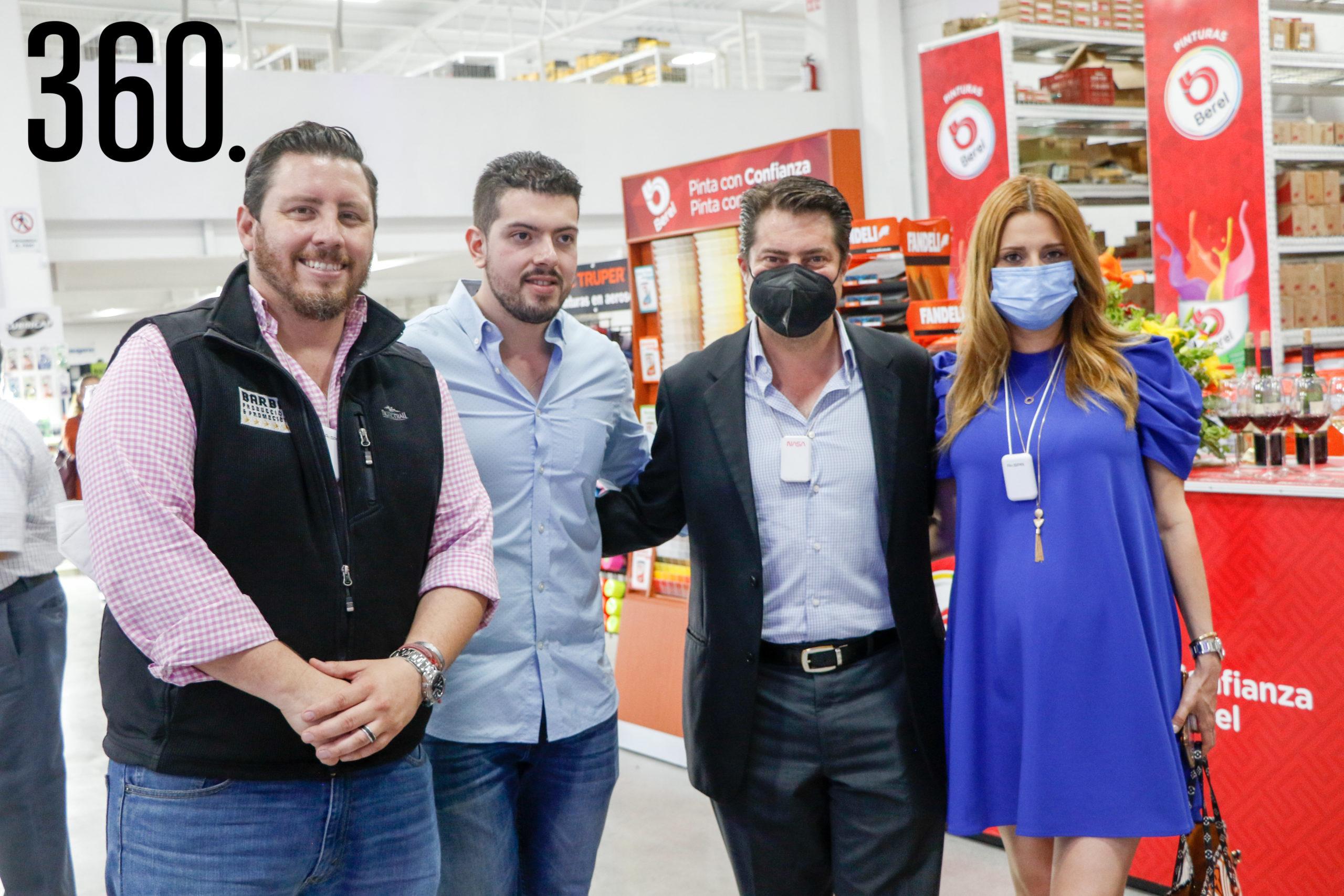 Rodrigo Barba, Alejandro Güitron, Enrique Martínez y Morales y Lilia Hiarmes.