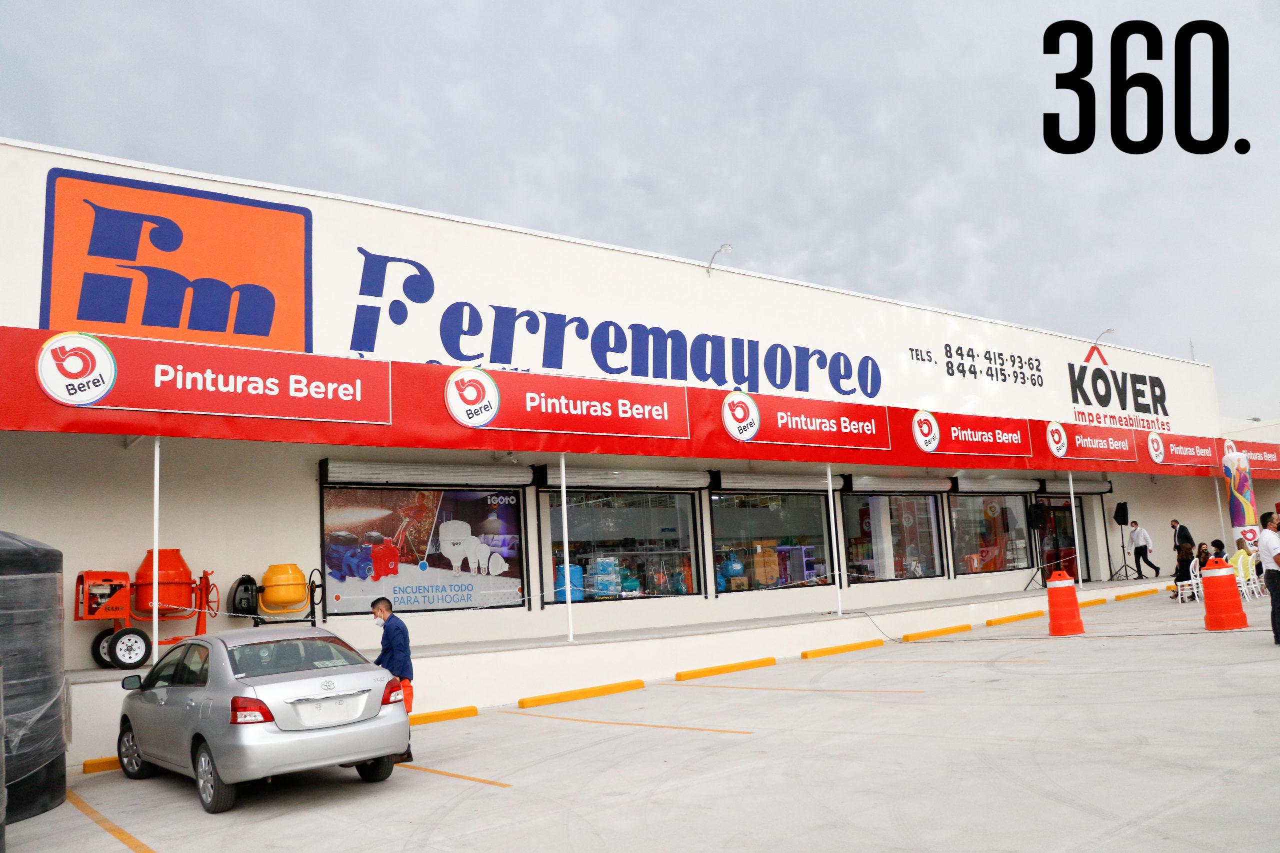 Ferremayoreo inauguró su octava sucursal.