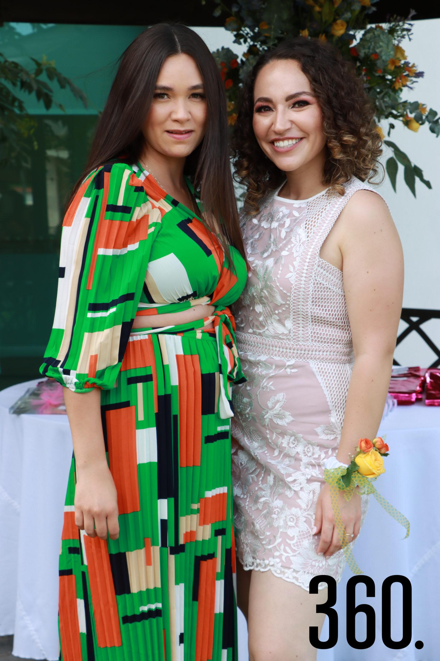 Montse Mireles felicitó a su amiga Ana Cecilia Romero.