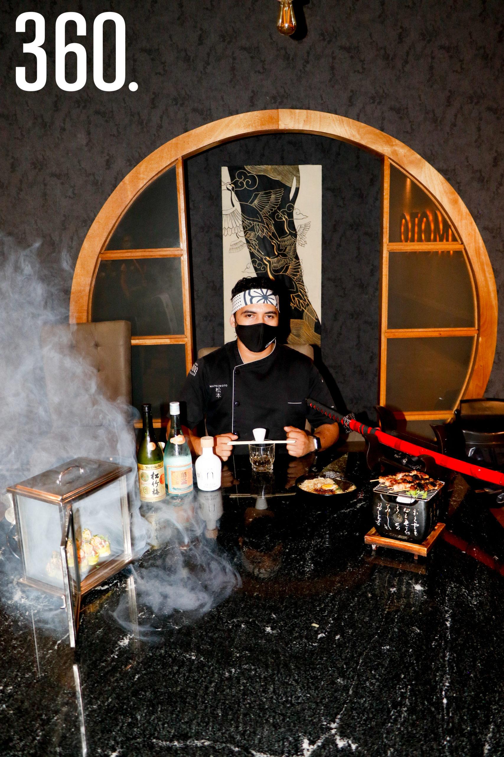 Chef Mario Yaird Valdez Torres.