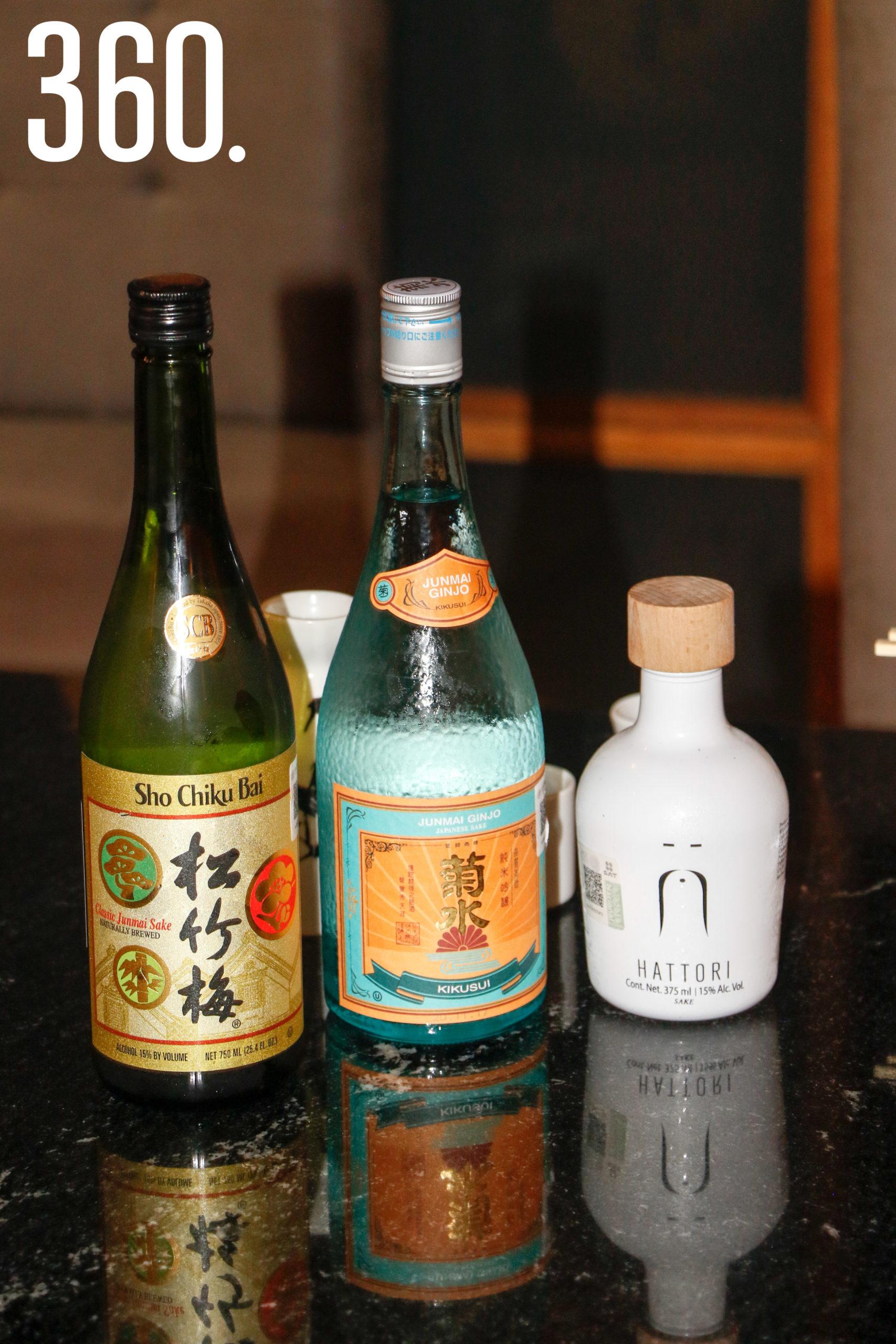 Los comensales disfrutarán de distintos tipos de sake.