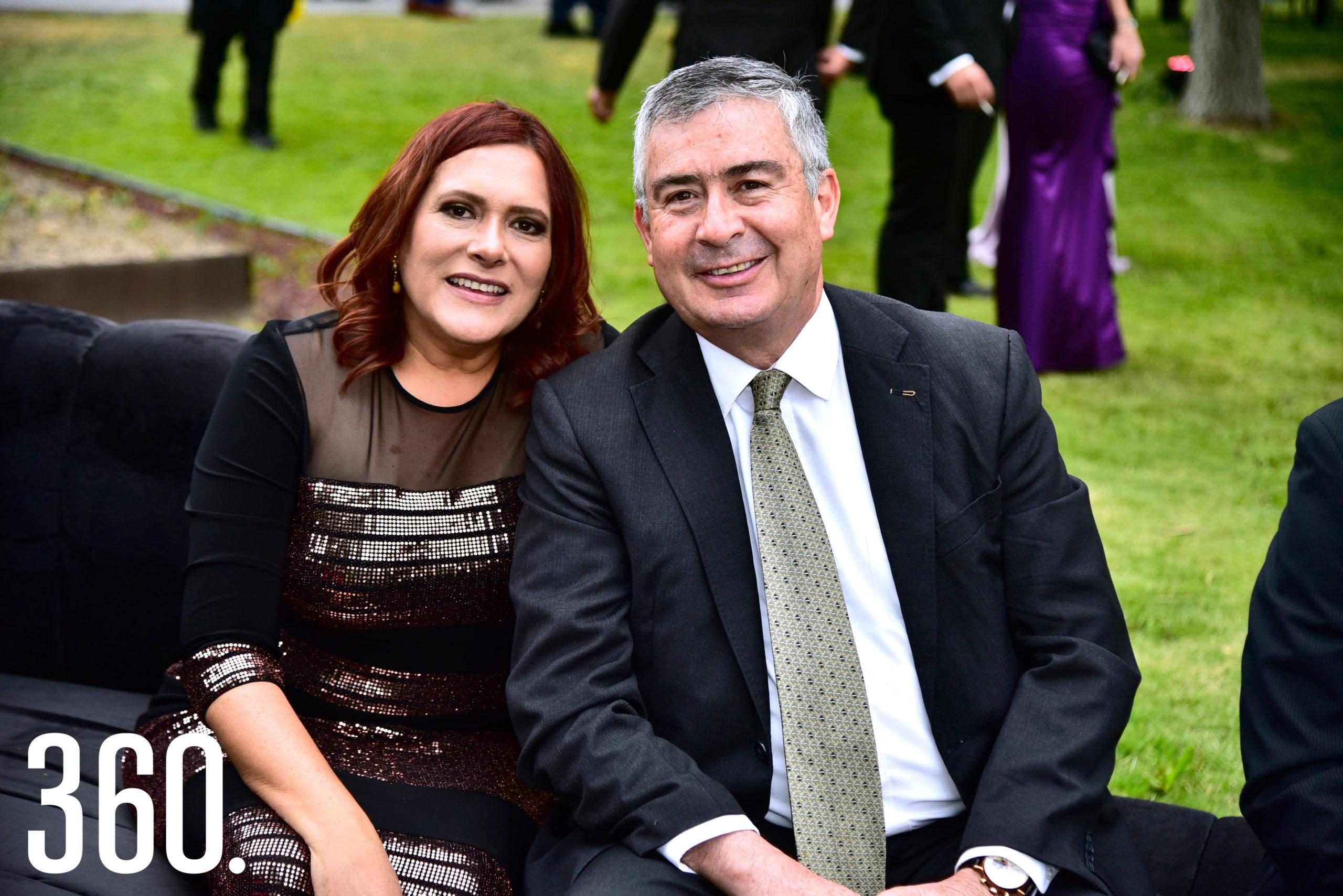 Mónica Vallejo y Javier Echevarría.