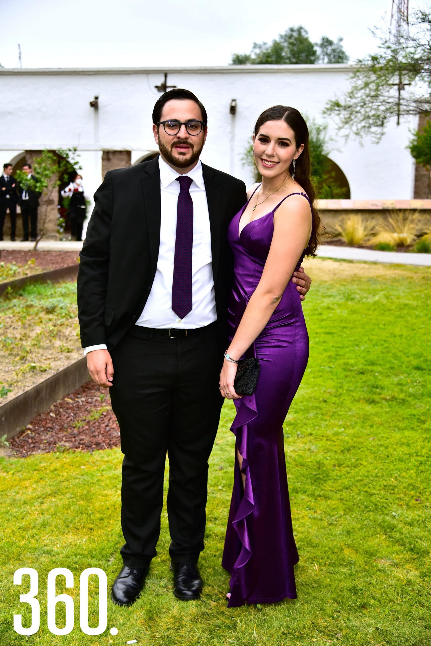 Mauricio Montemayor y Paulina Aguirre.