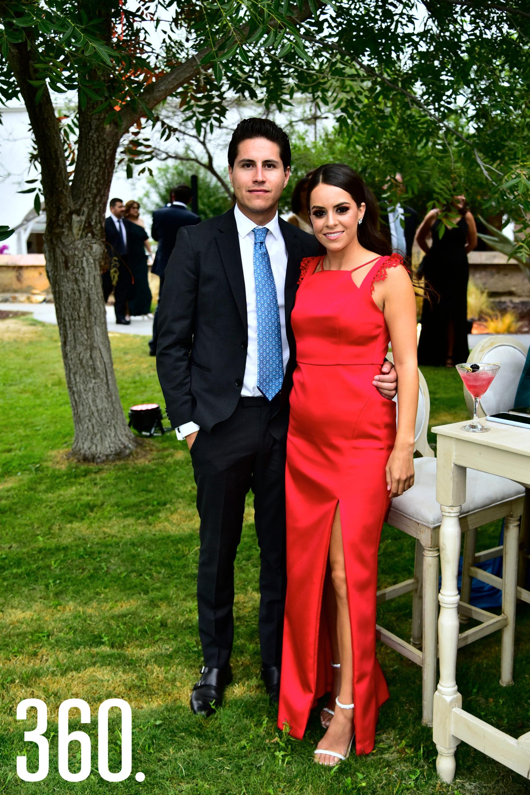 Fabricio Villalobos y Teresa Del Bosque.