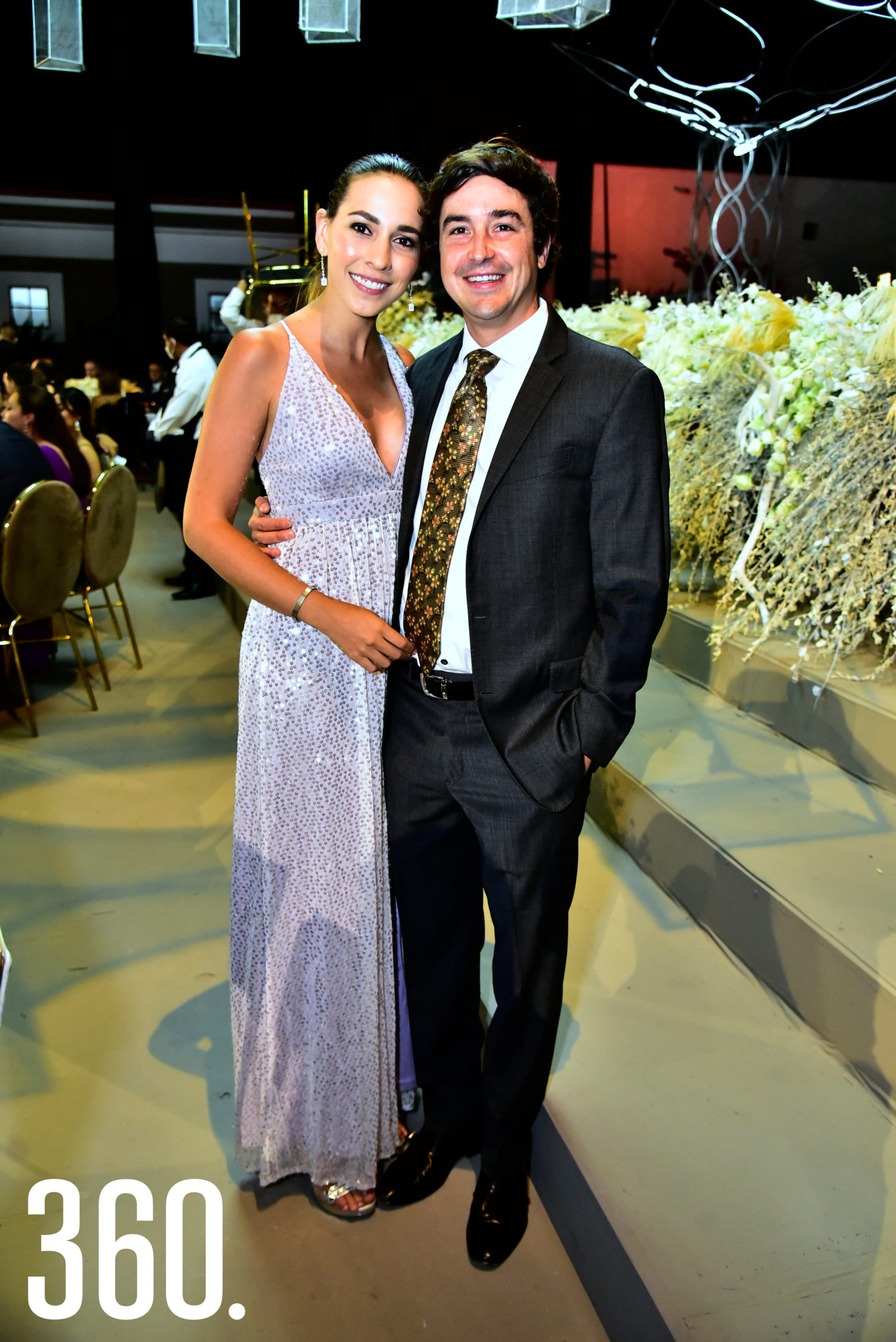 Verónica Dorbecker y Javier Alanís.