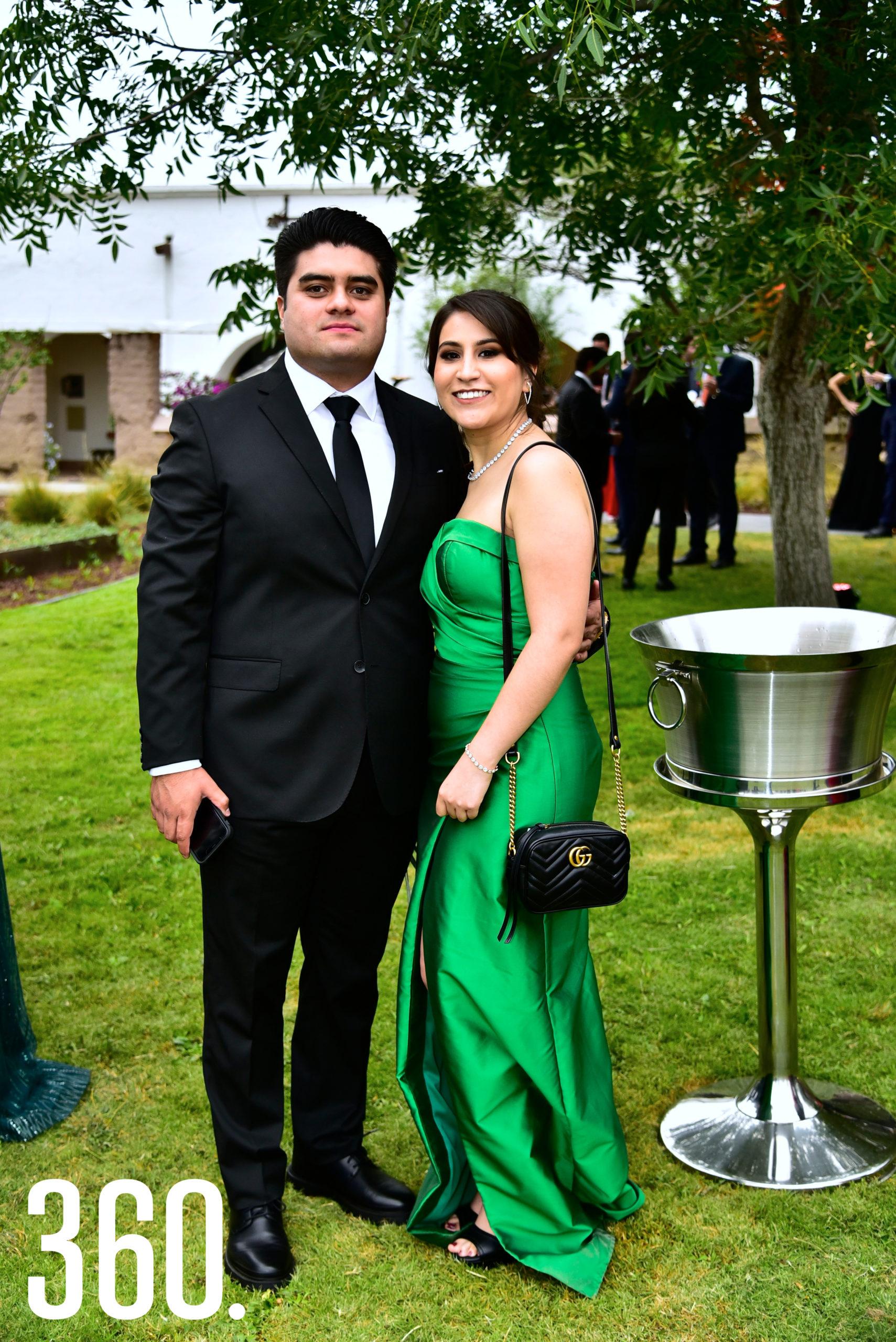 Jaime Aguirre y Fernanda Zavala.