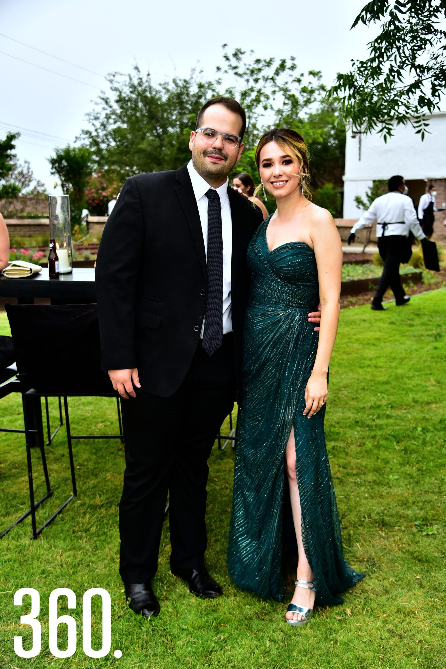 Luis Guajardo y Astrid Fernández.