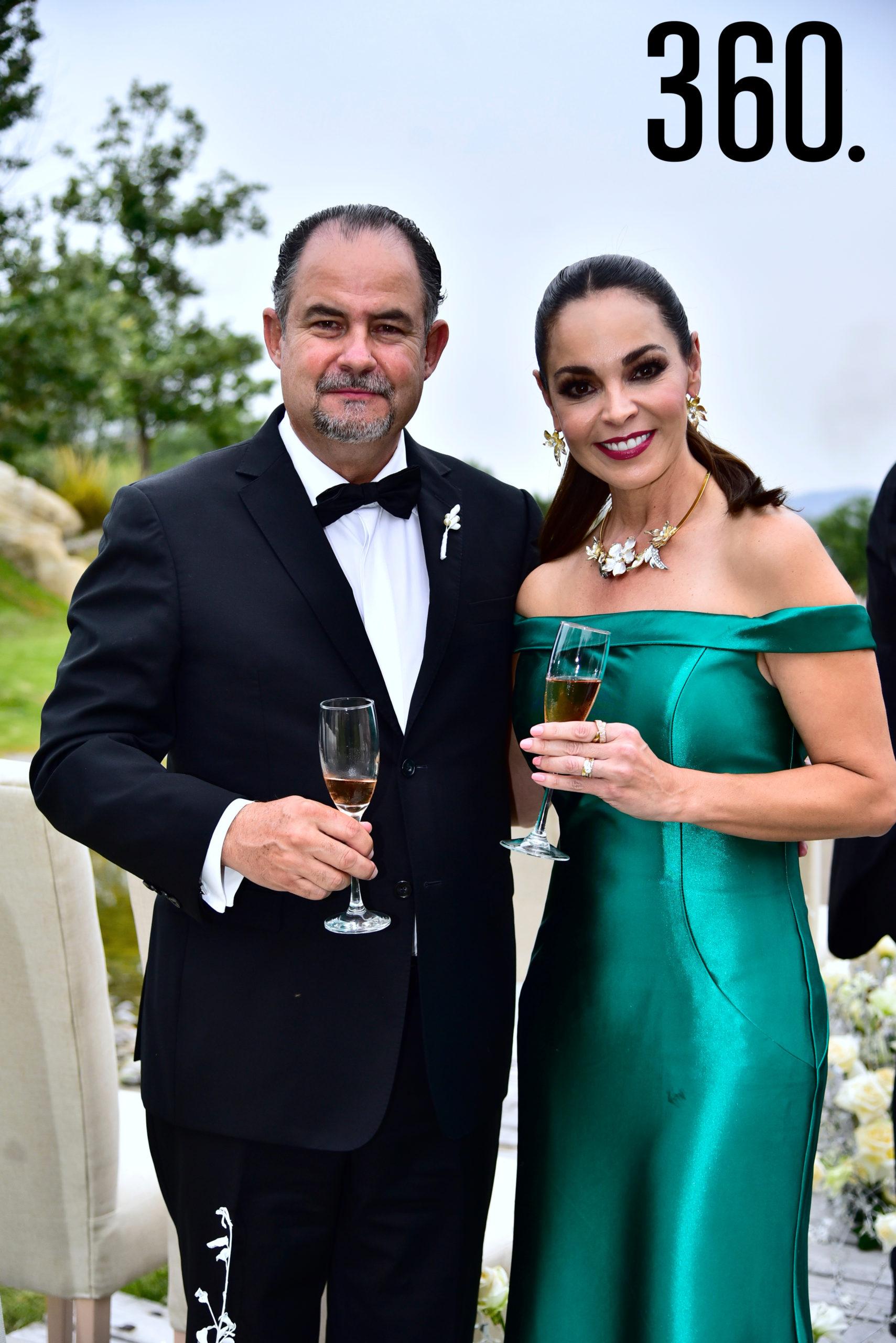 Juan Ignacio García y Laura Farías.