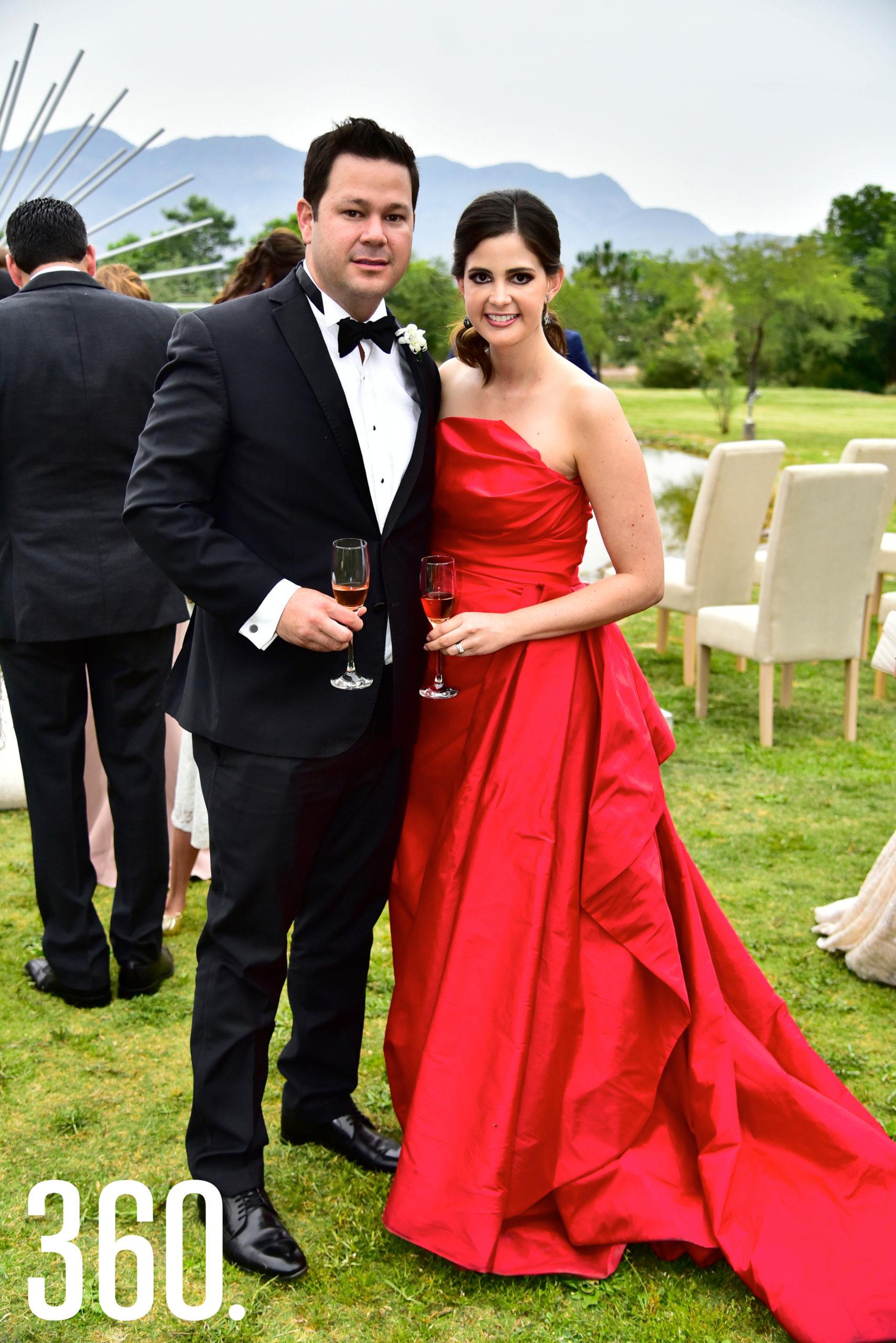 Carlos García y Ana Sofía García.
