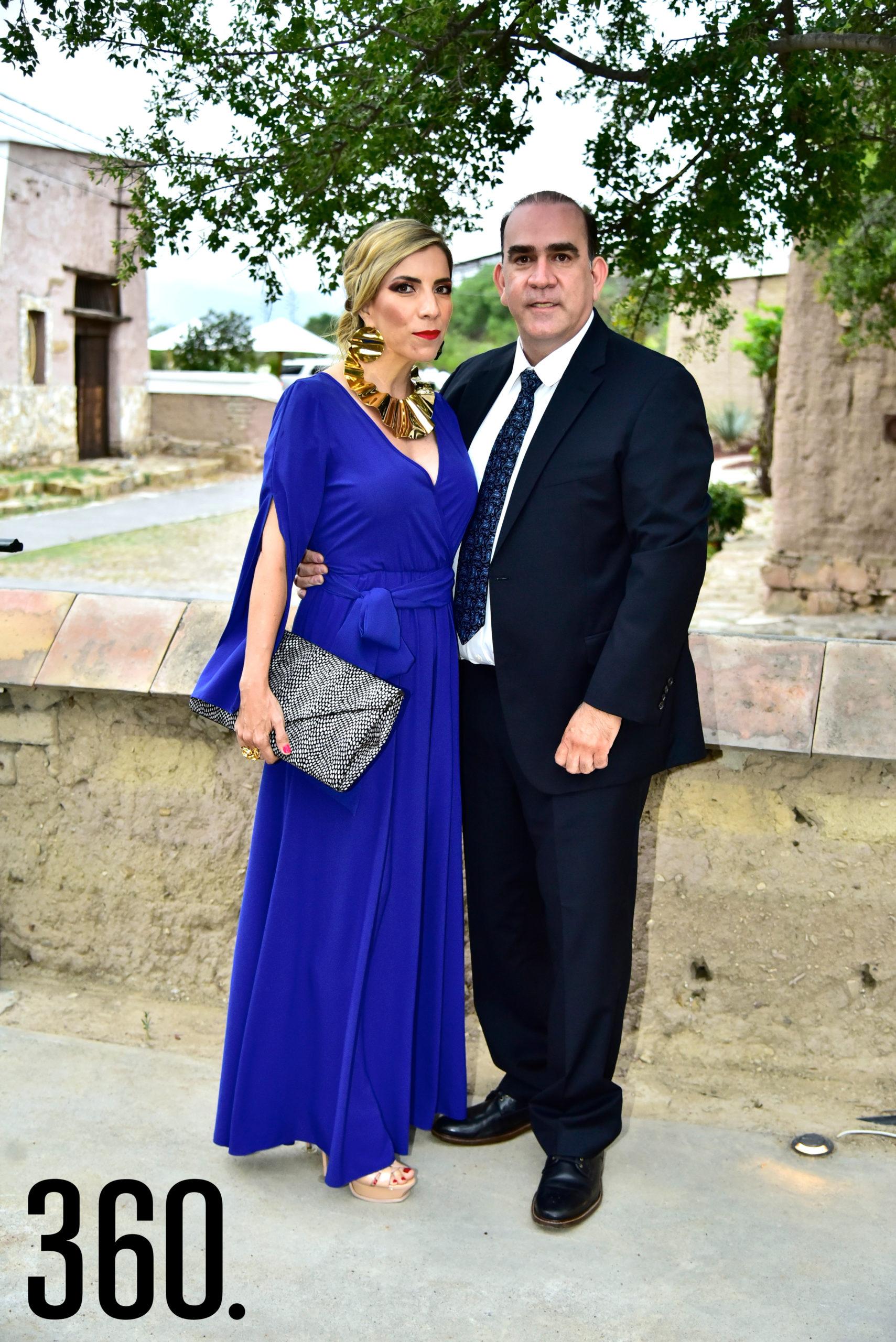 Greta Duarte de Williamson y Miguel Ángel Williamson Sada.