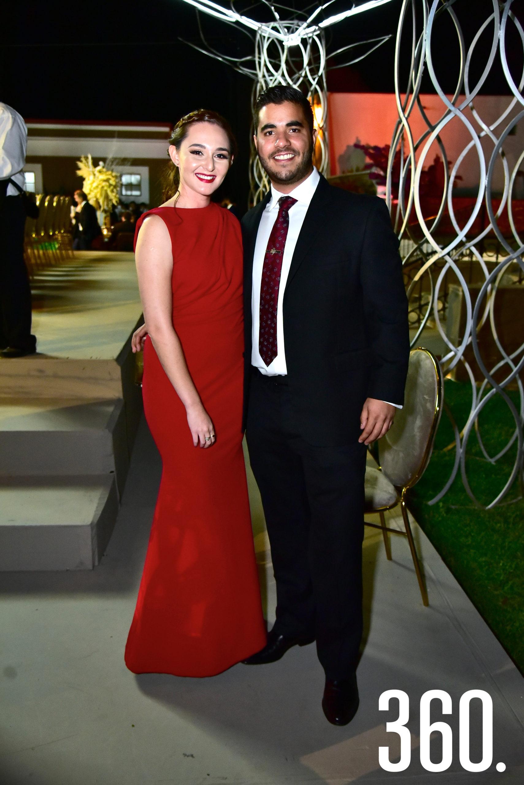 Andrea Posadas y Alejandro Guerra.