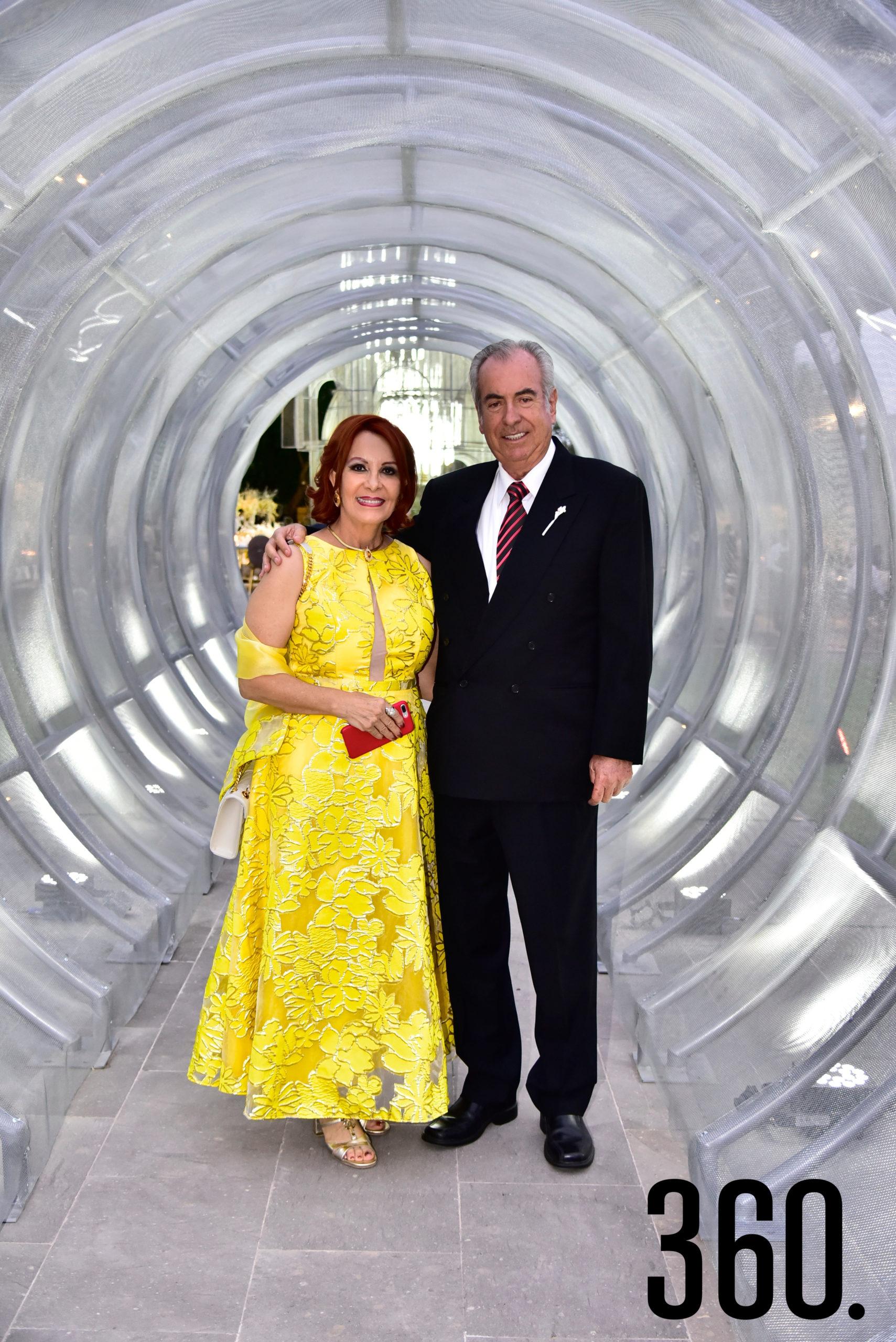 Olga Sahagún y José Luis Valdés.
