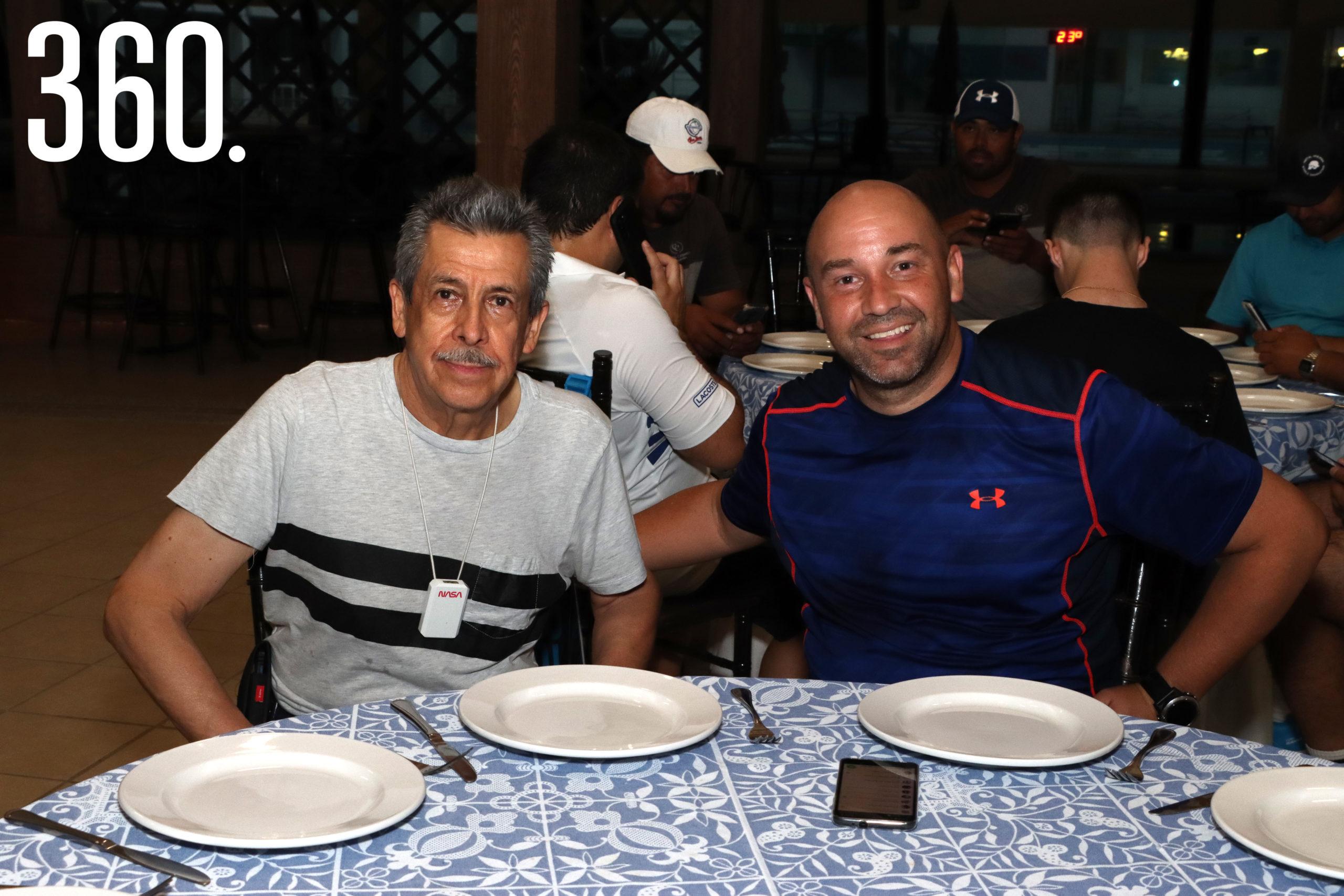Humberto Quijano y Álvaro Peña.