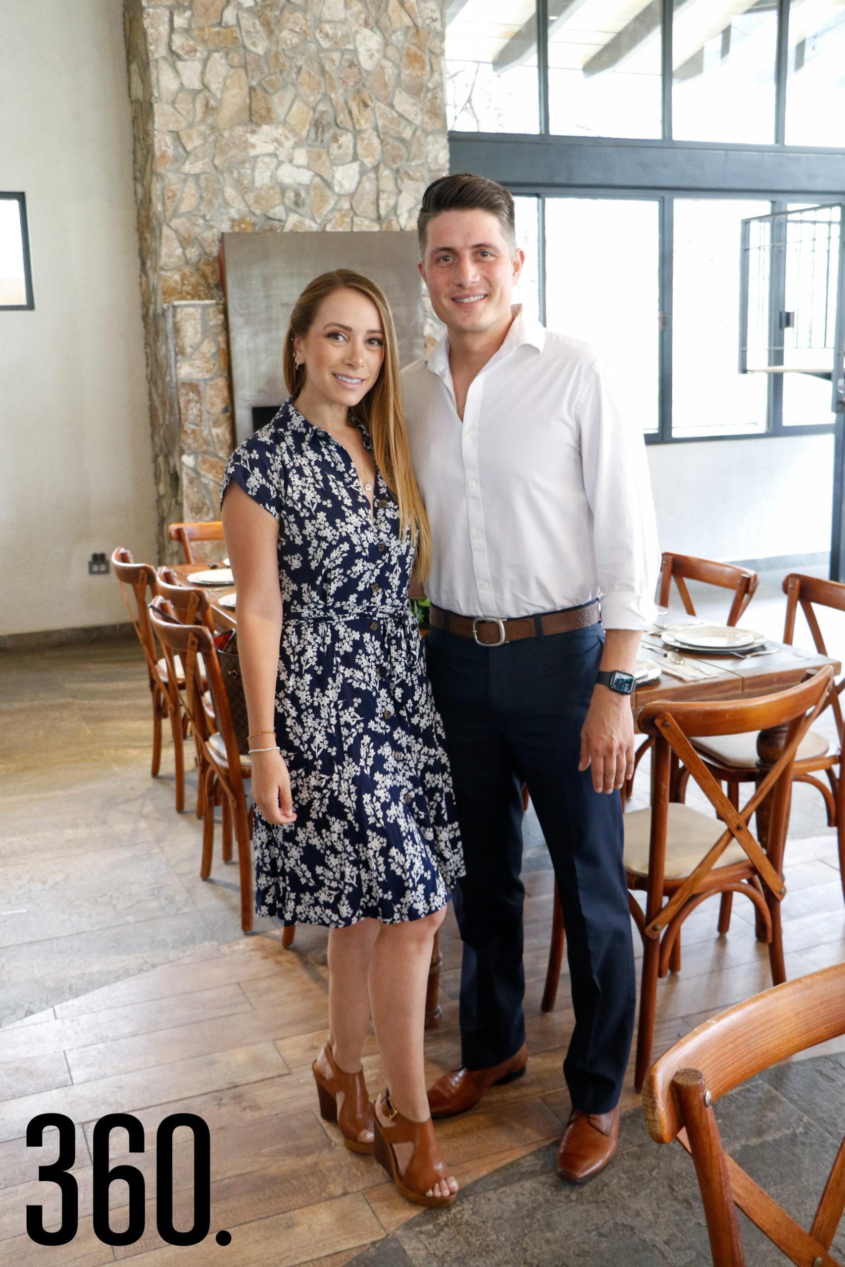 Alina Castillo y Alberto Prado.