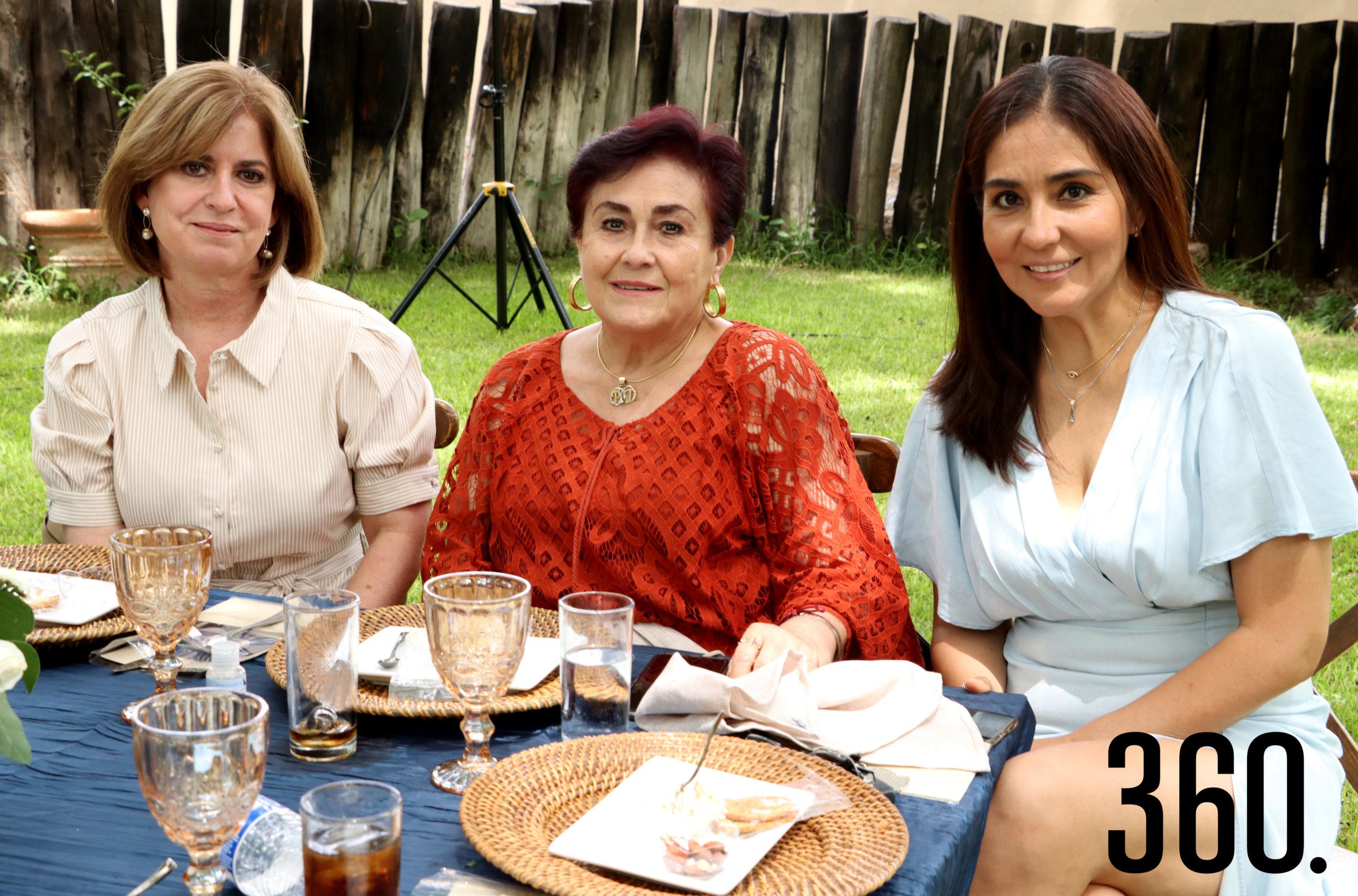 Ana Bohigas, Patricia Merino y Tere Gutiérrez.
