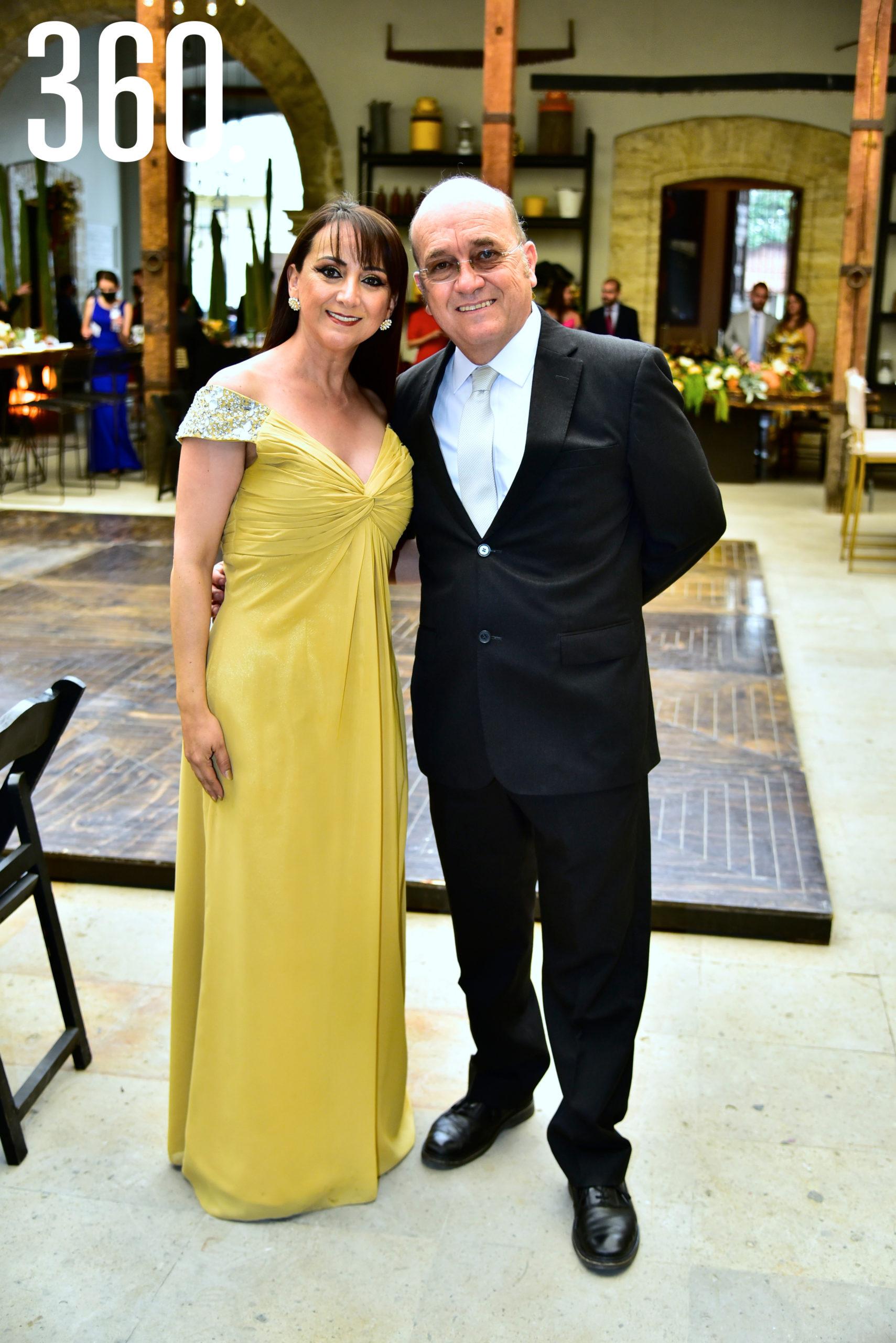 Georgina Ramos y Jaime Treviño.