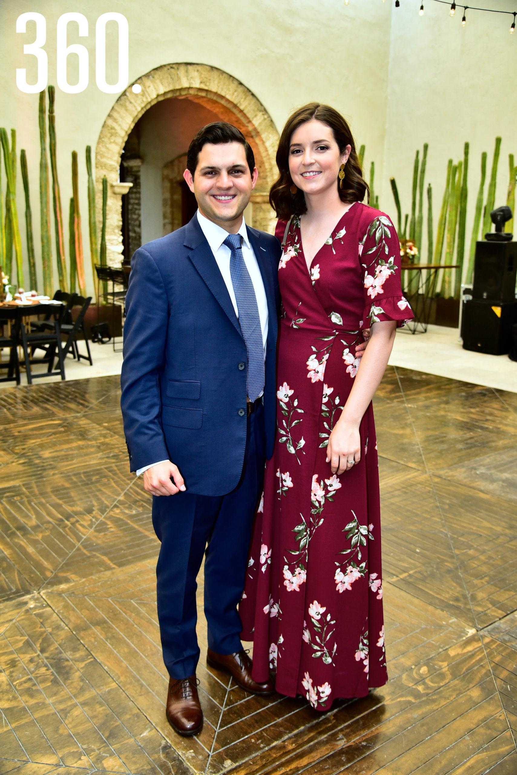 Carlos Martínez y Andrea Chacón.