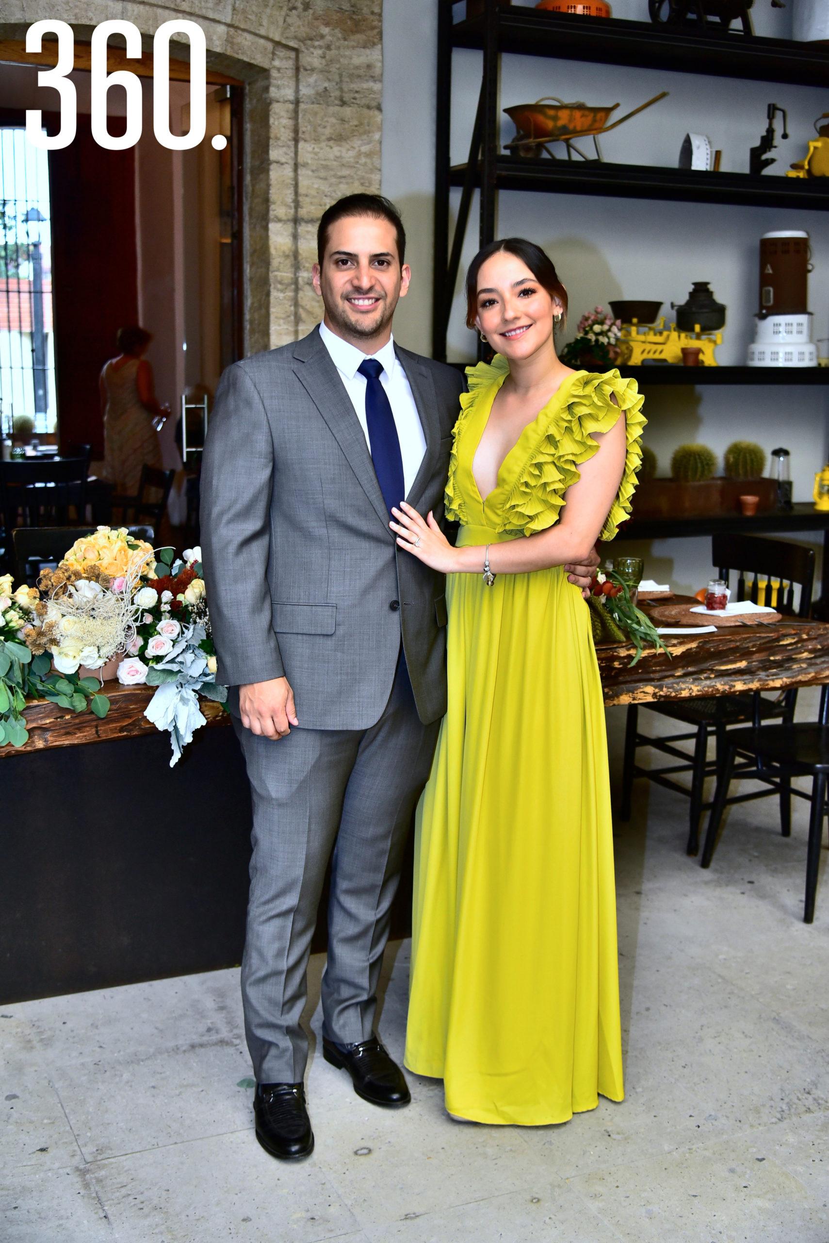 Daniel Chávez y Ana Sofía Cabello.