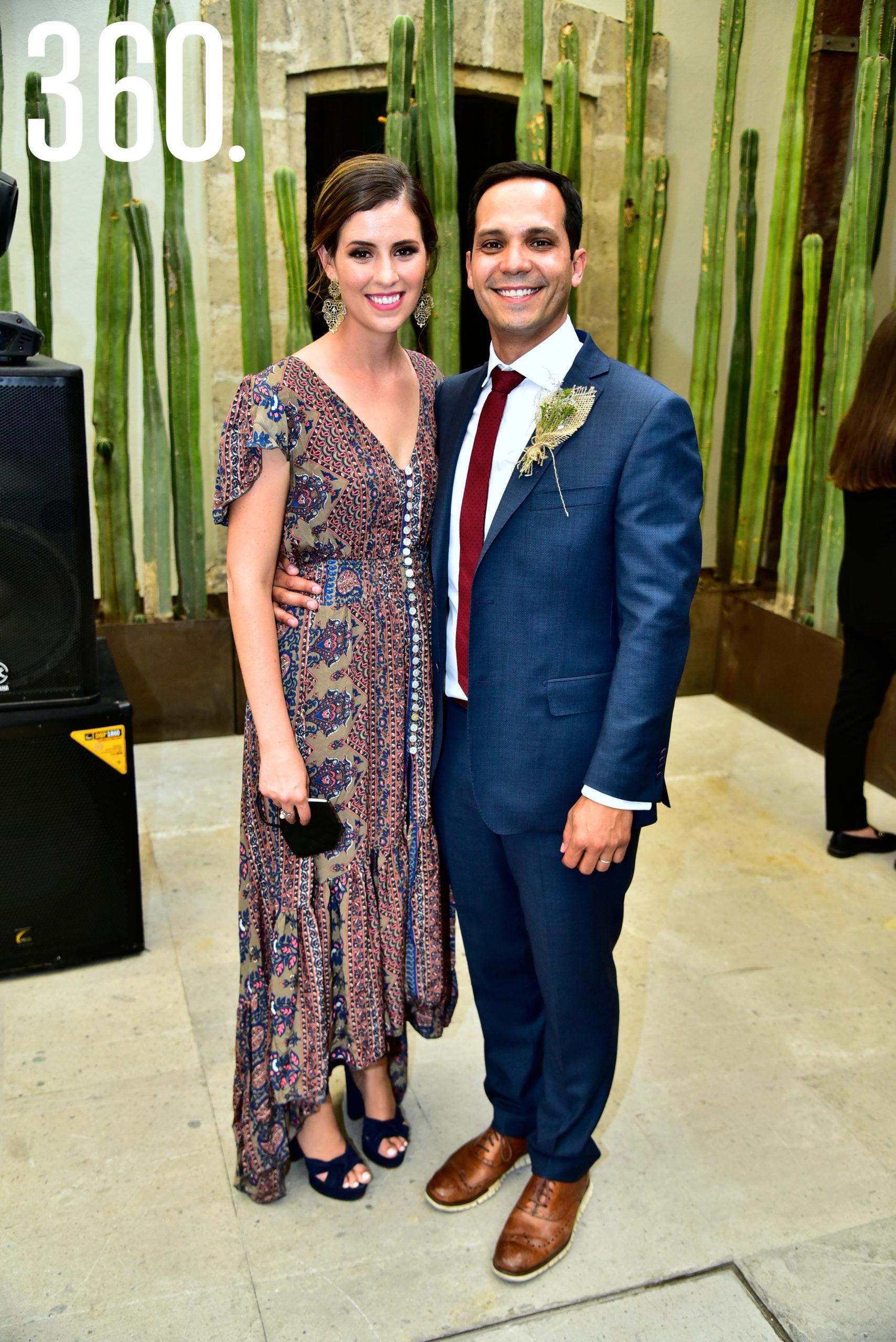 Sofía Herrera y Ricardo Cabello.