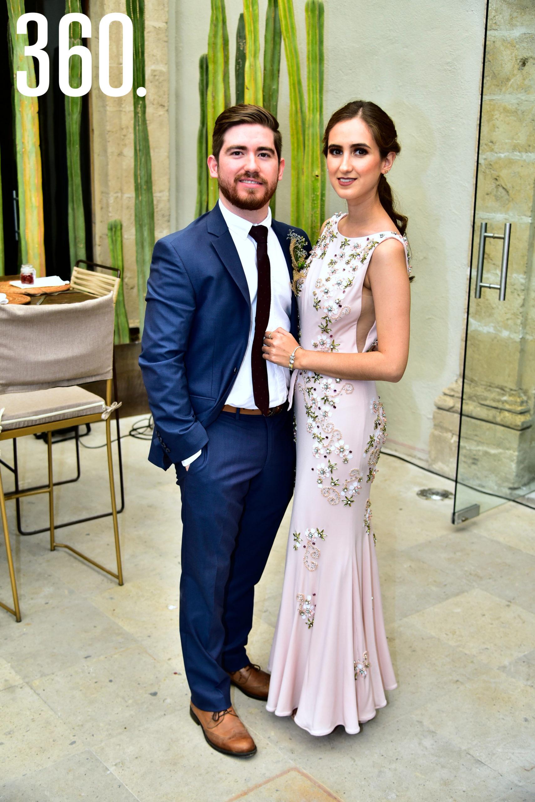 Javier del Bosque y Ana Laura Dávila.