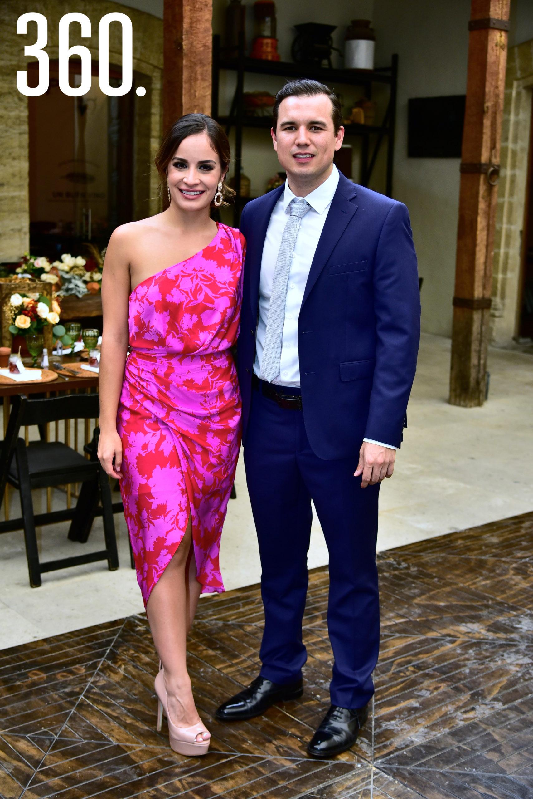 Jimena Fernández y Adrián Dewey.