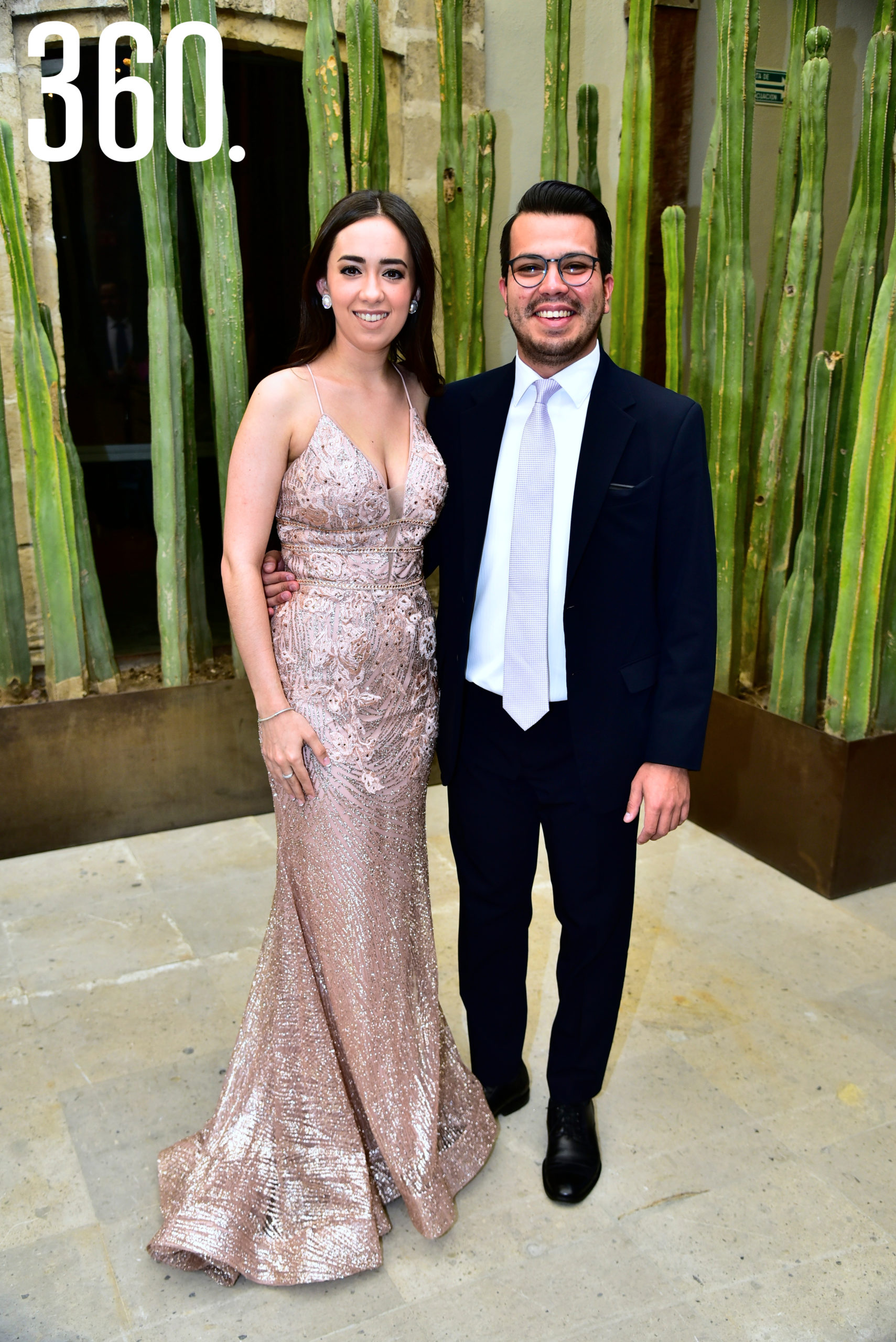 Jimena Pinedo y Óscar Vásquez.