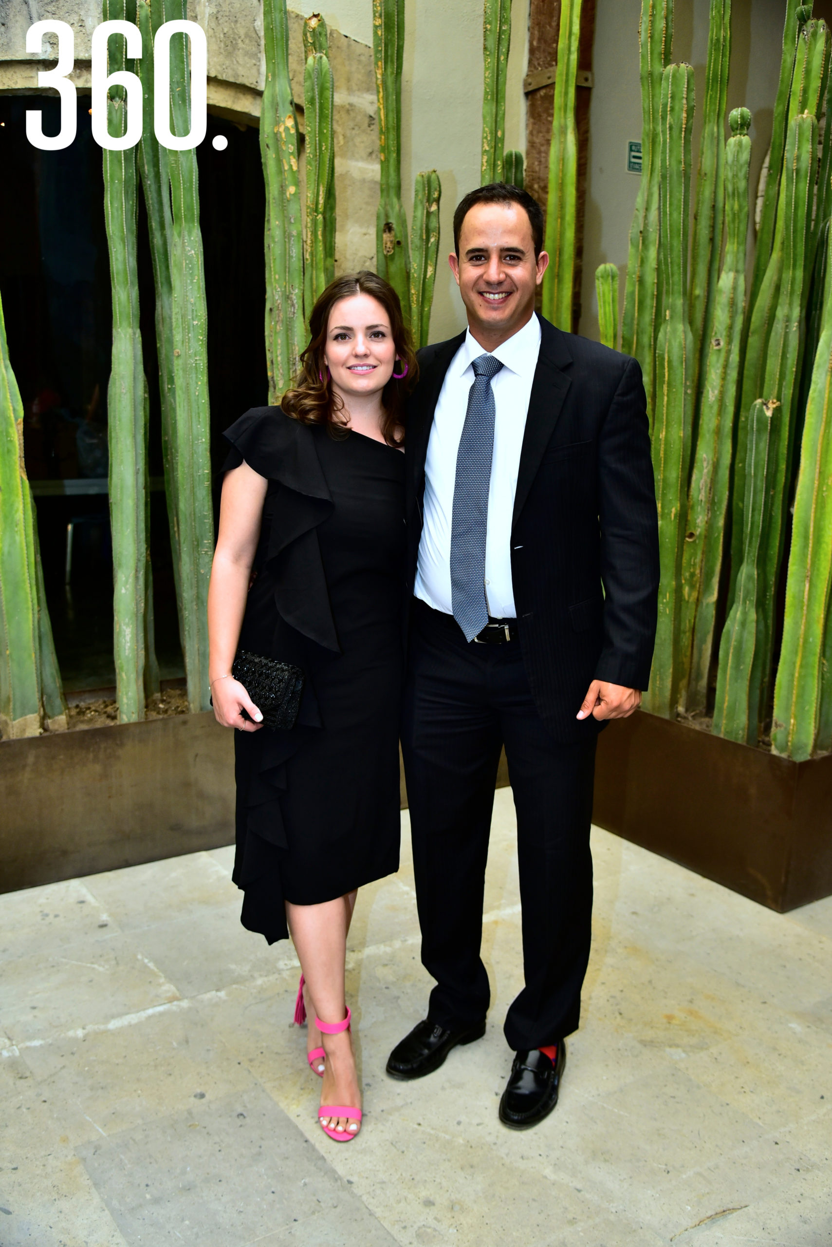 Lili Salas y José Francisco Dávila.