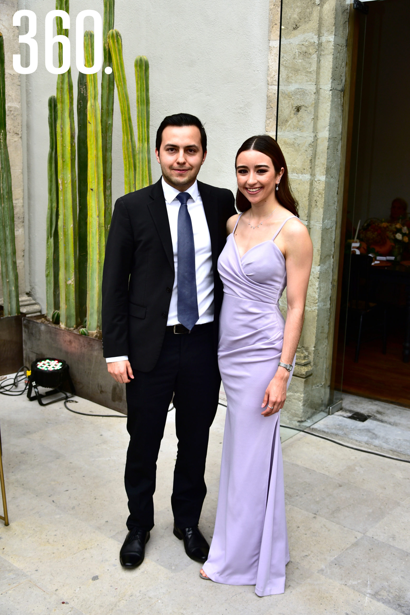 Jesús Ochoa y Fernanda Del Bosque.