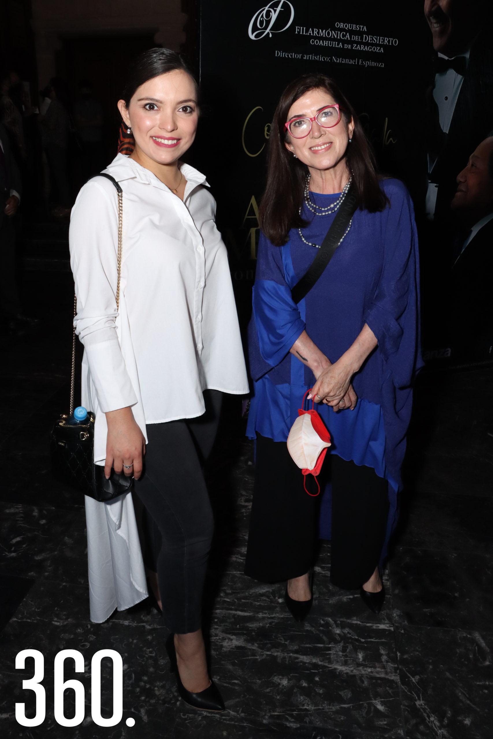 Melissa Soto y Martha Sánchez.