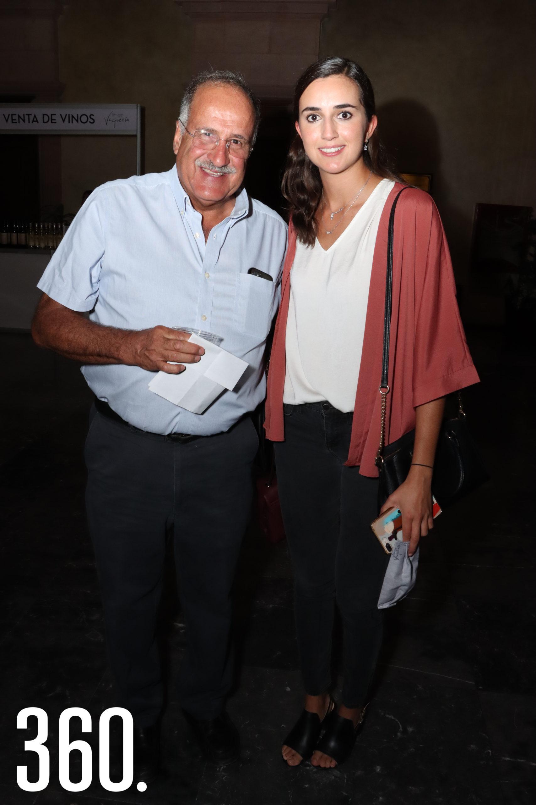 Gerardo y Sofía Aguirre.