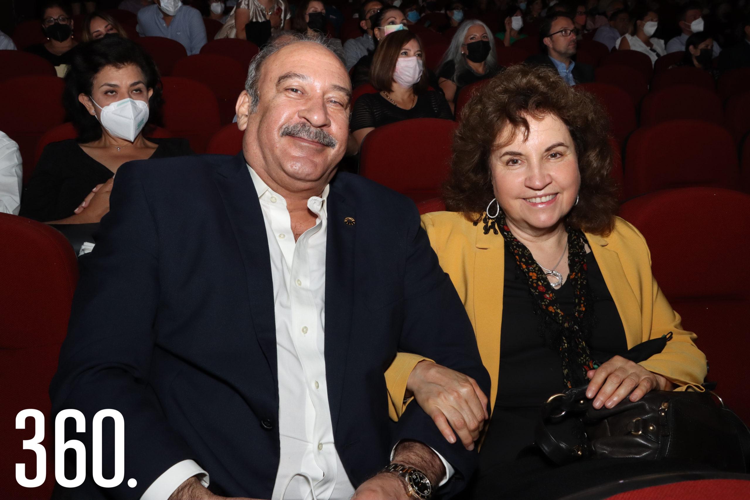 José Antonio Lazcano y María Lorena Fernández.