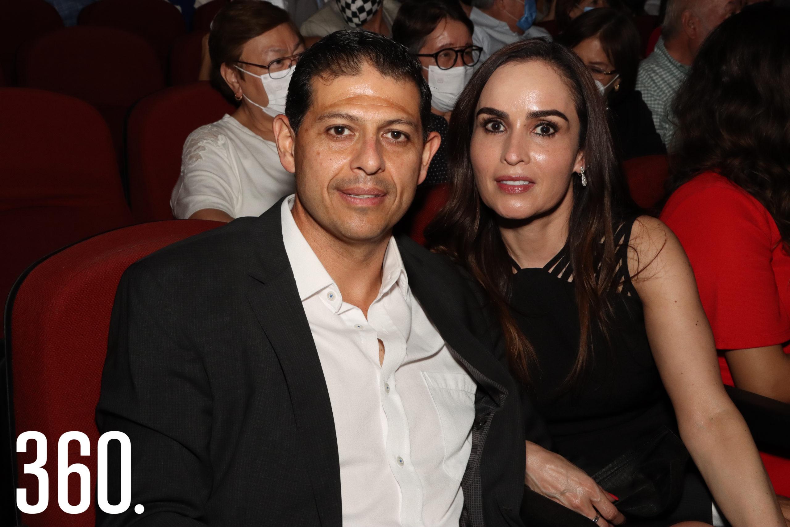 Octavio Pimentel y Marcela Guerrero.