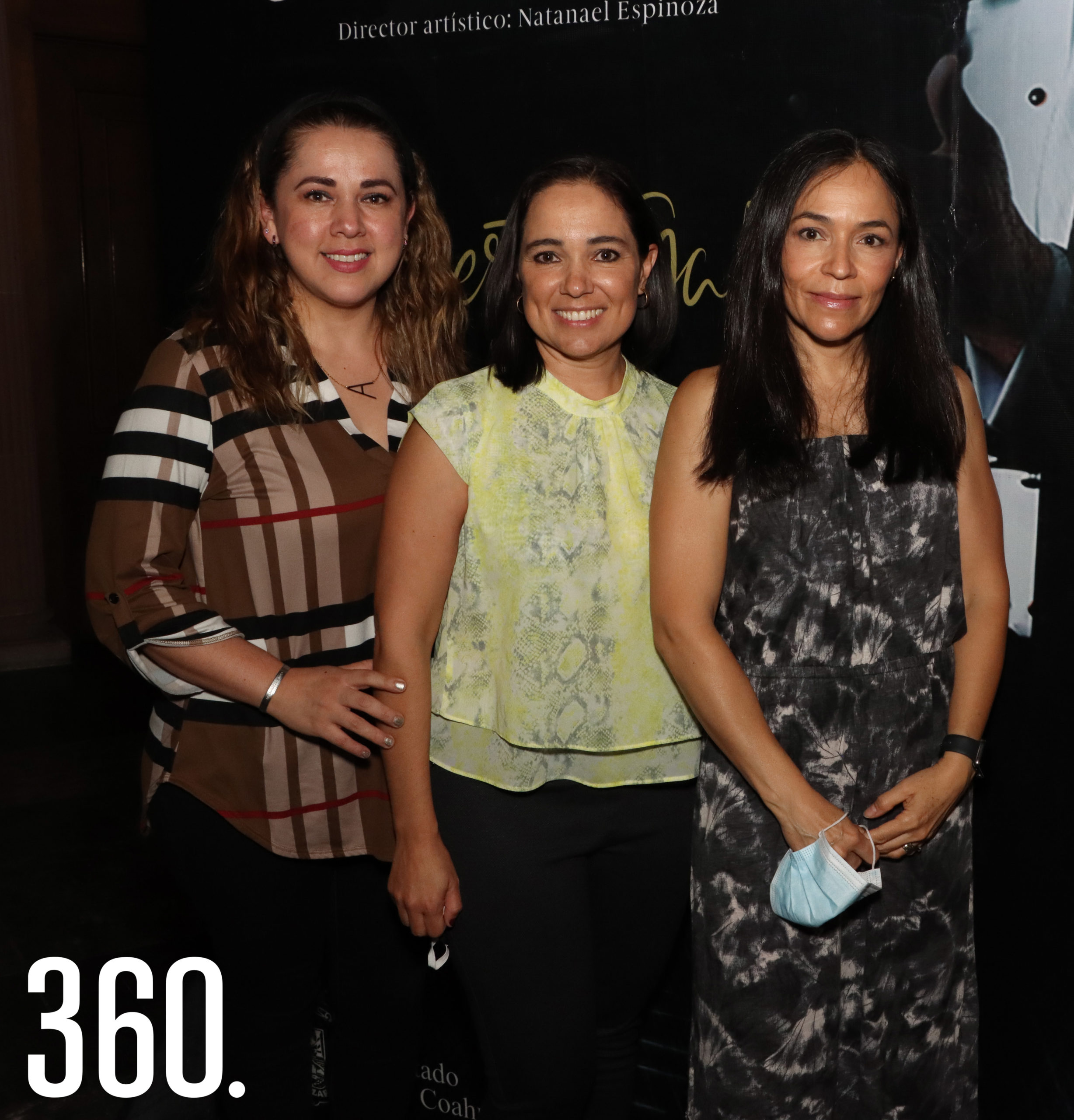 Anilú Díaz Moll, Liliana Blackaller y Adriana Monjaraz.