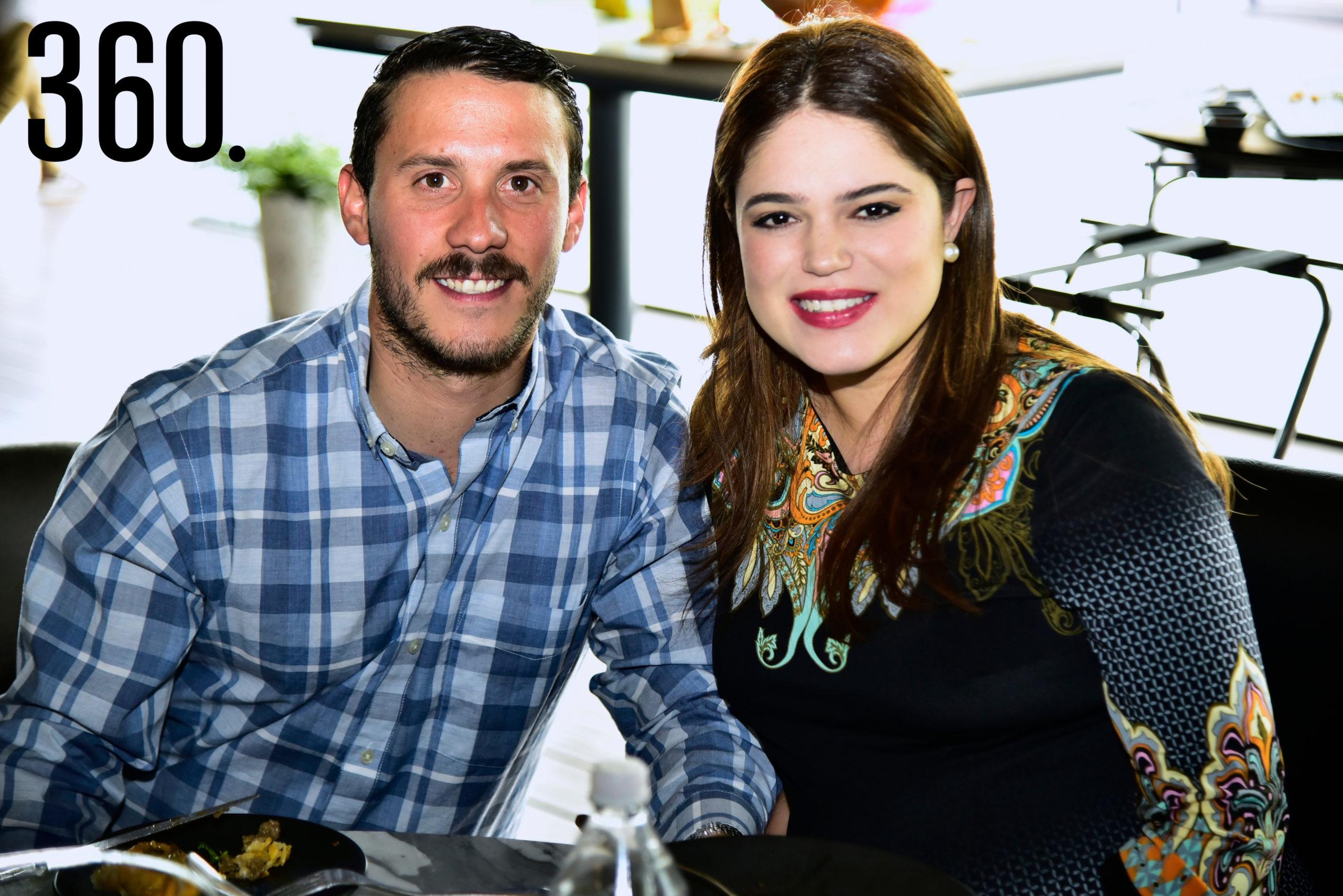 Sergio Evelio González y Ana Hilda Aguirre.