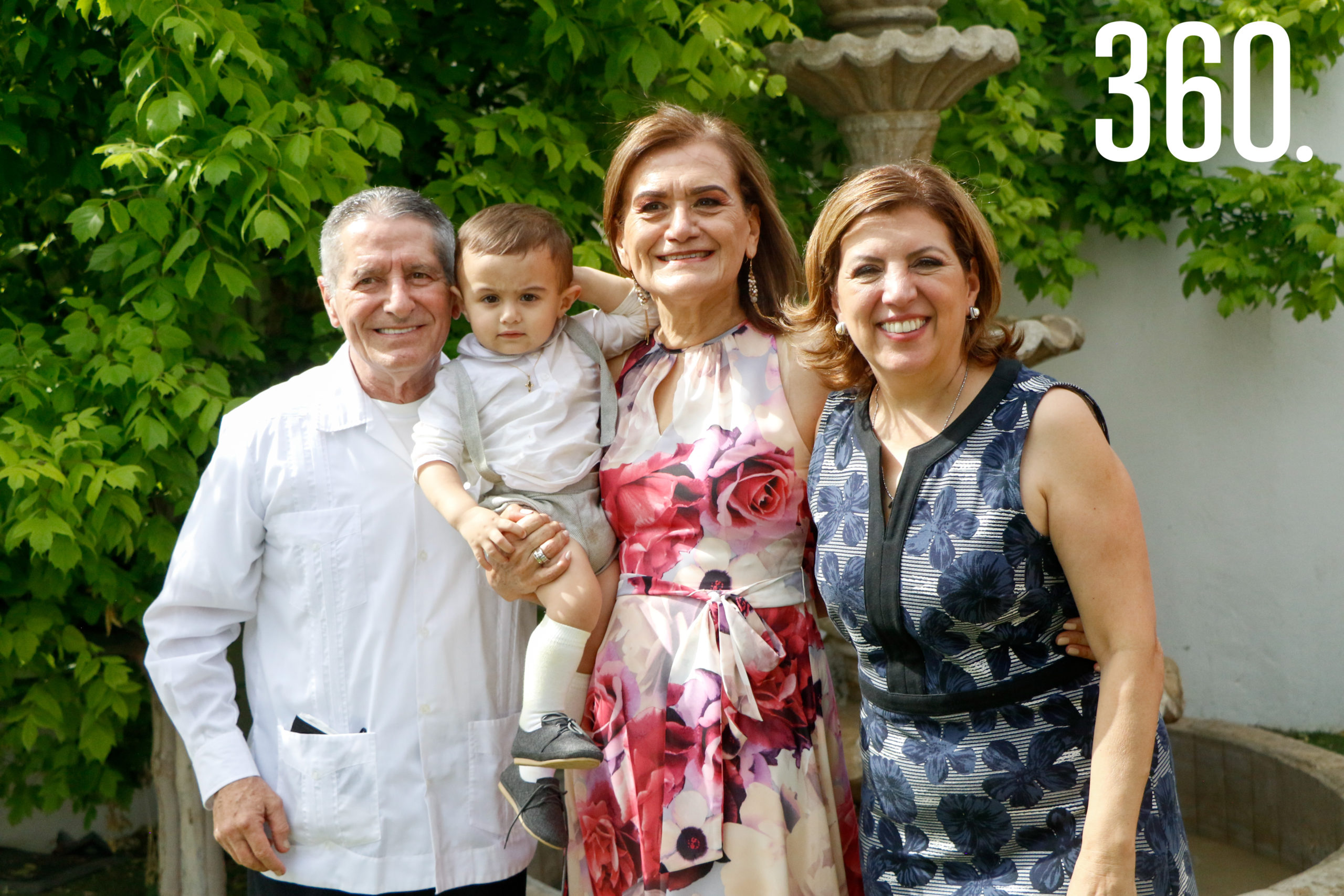 Baudel Hinojosa, Jesús Pedro, Alma Fuentes y Mari Cantú.