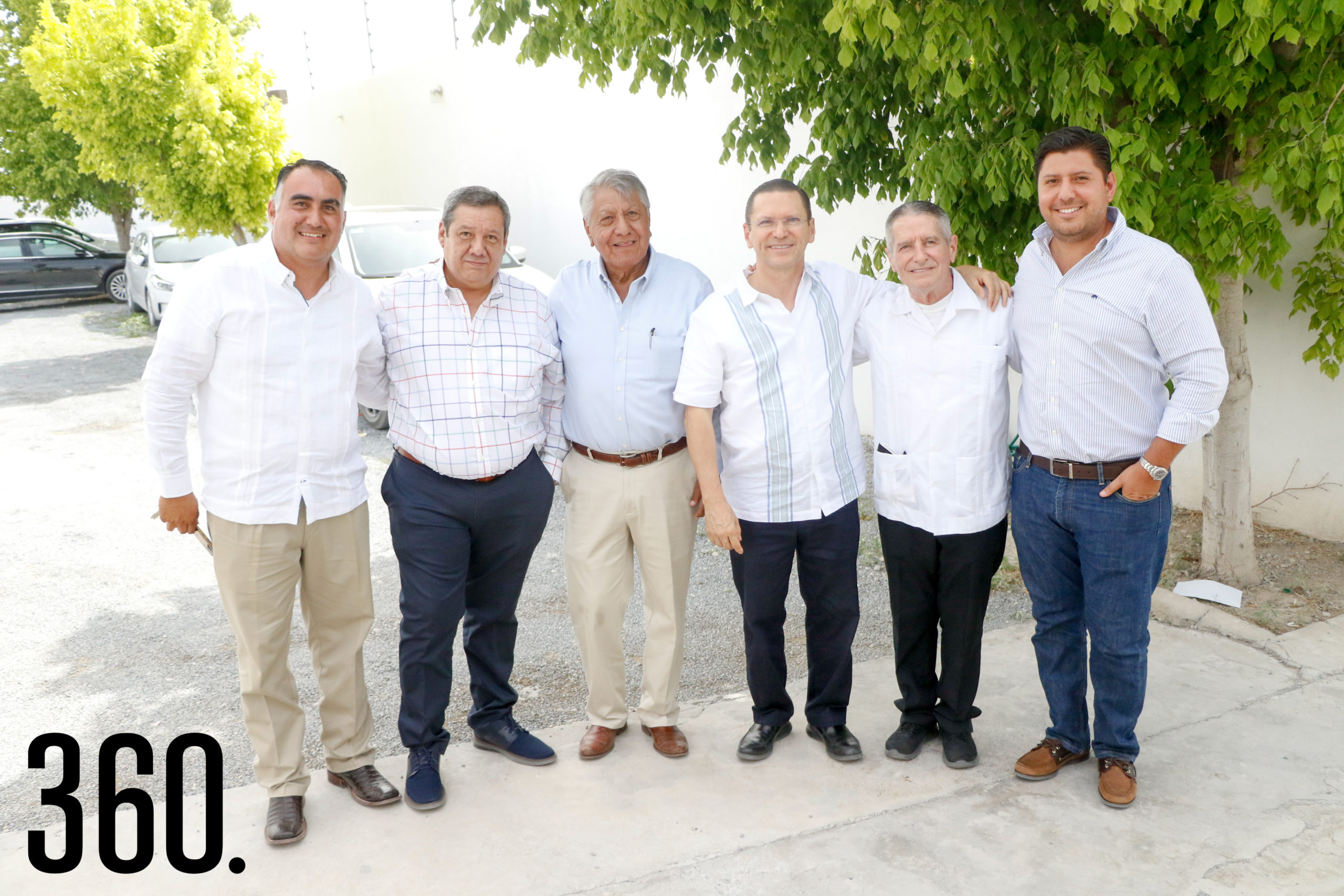 Jesús Figueroa, Homero Ramos, Marcos Trejo, Jorge Cantú, Baudel Hinojosa y Gerardo Trejo.