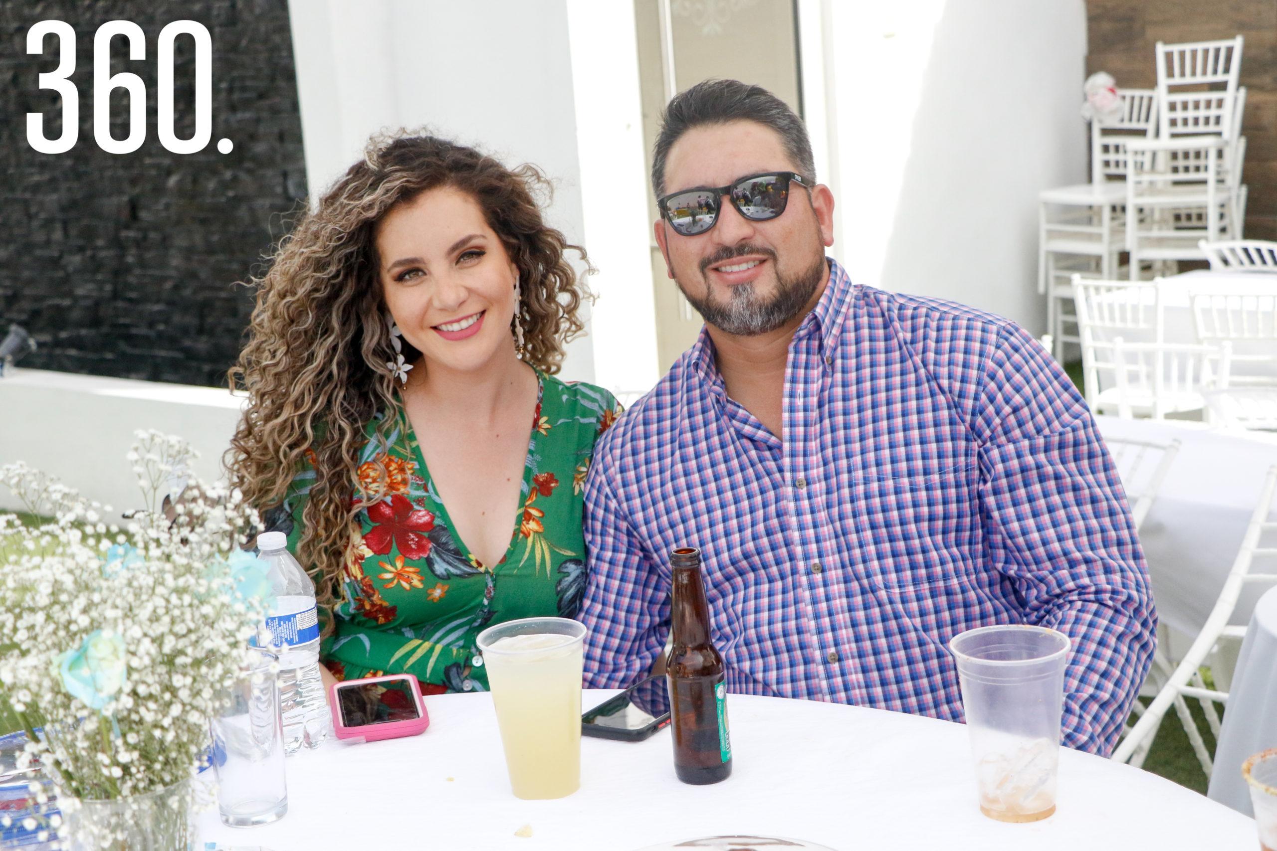 Diana Ayala y Guillermo Prado