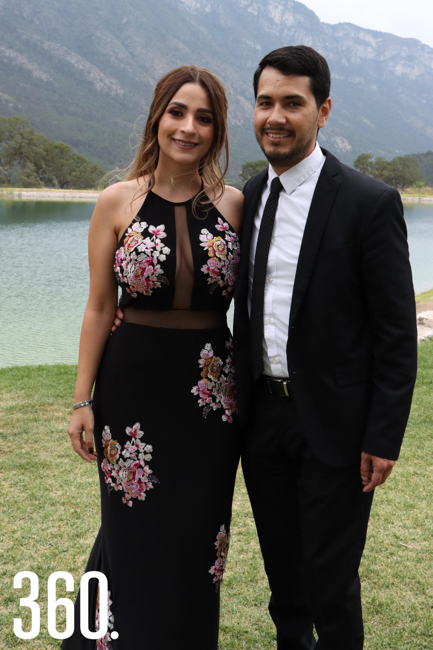 Alejandra de la Fuente y Guillermo García.