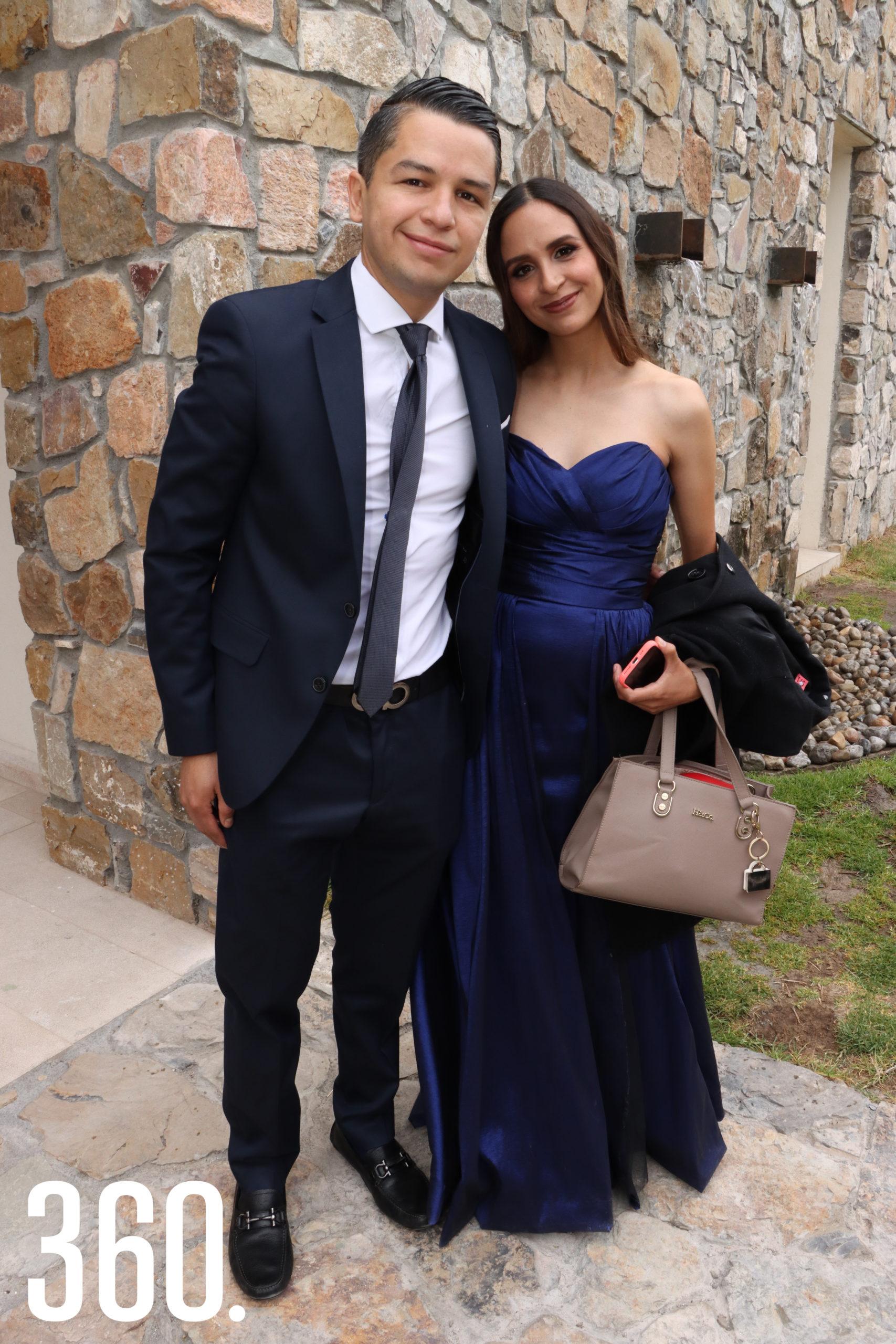 Emmanuel Sosa y Marisol García.