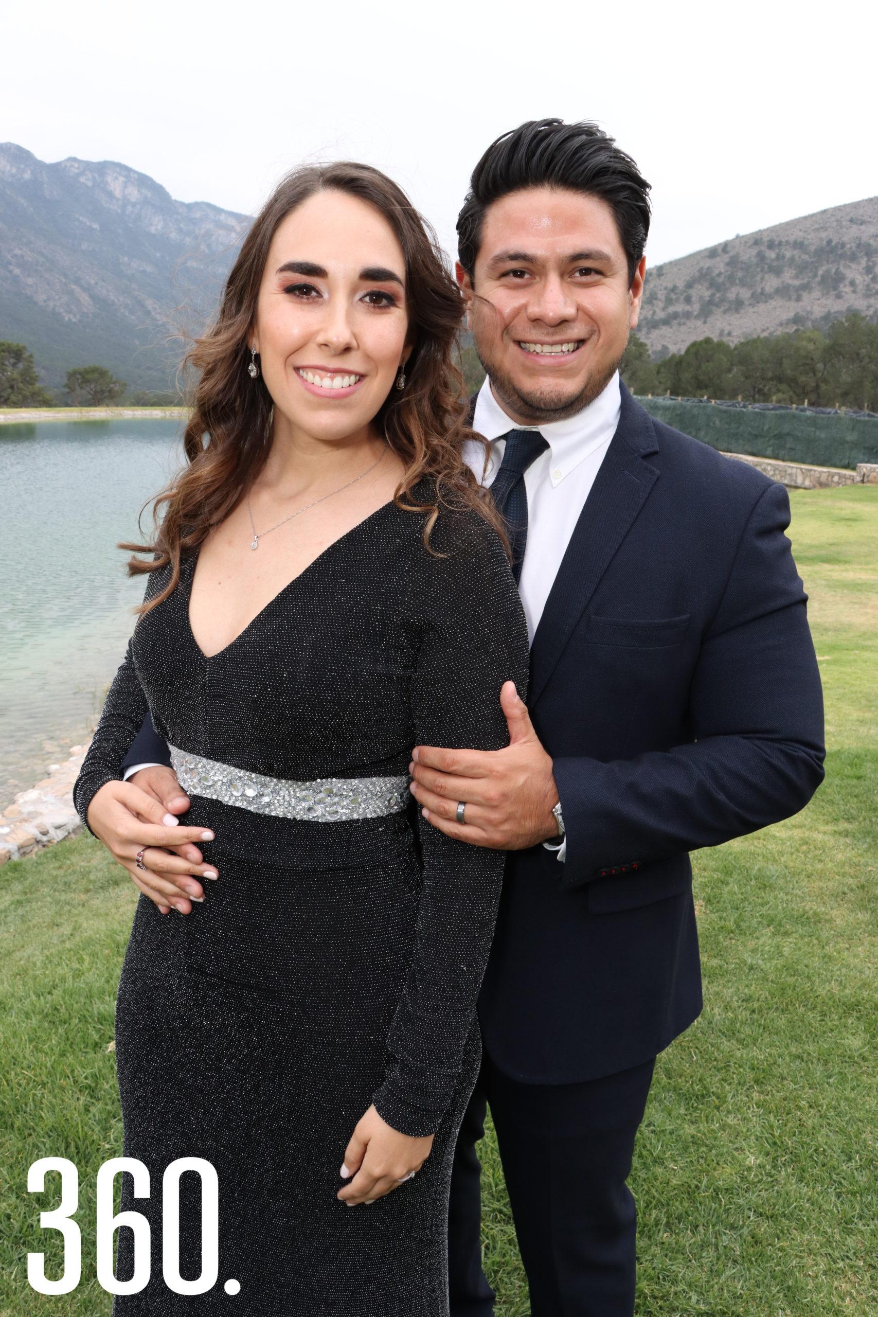 Sofía Cepeda y Raymundo Valero.