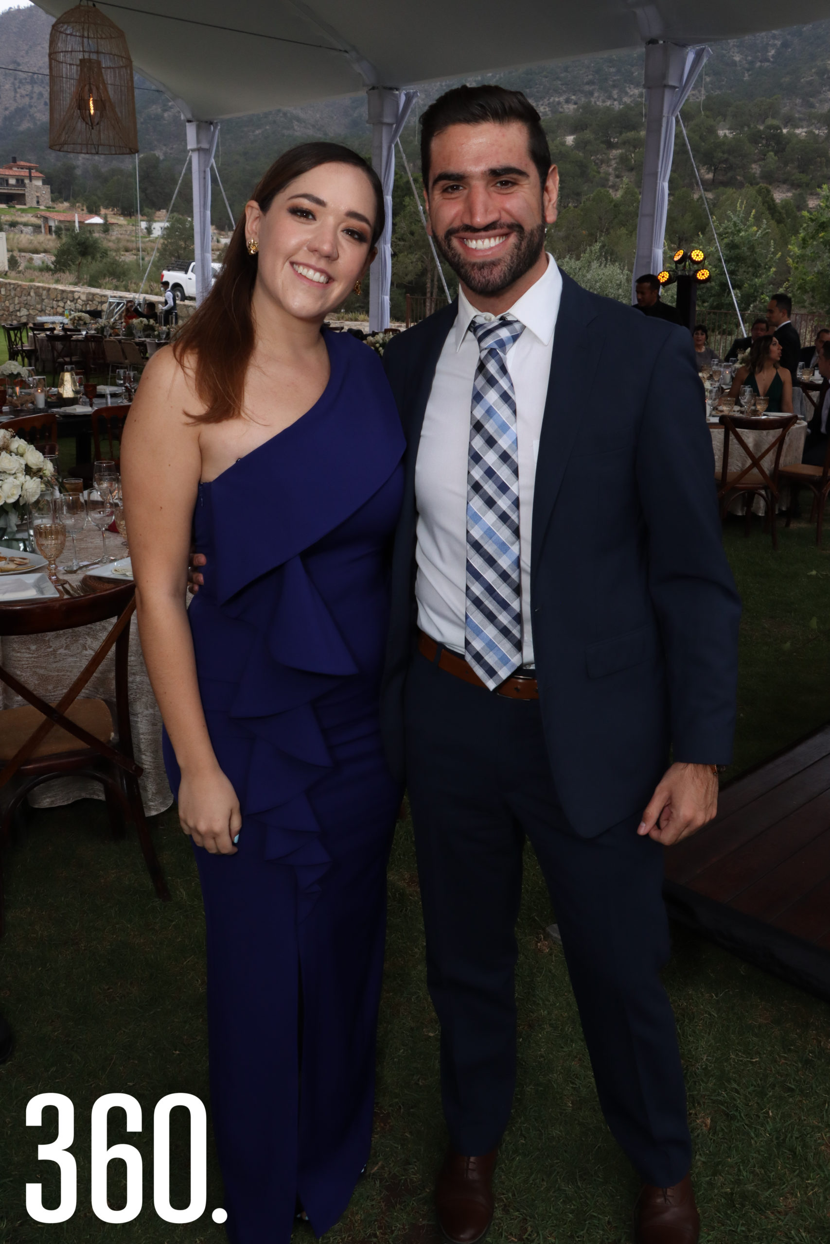 Laura Hernández y Bernardo González.