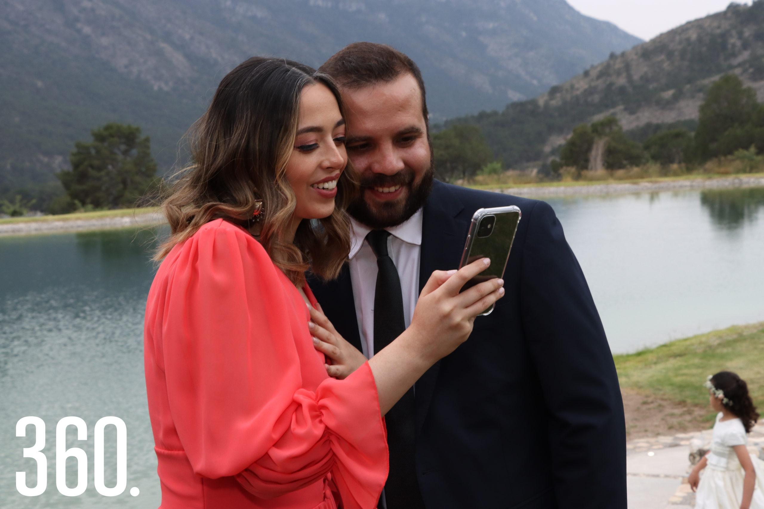 Mariana Solís y Erick Hernández.