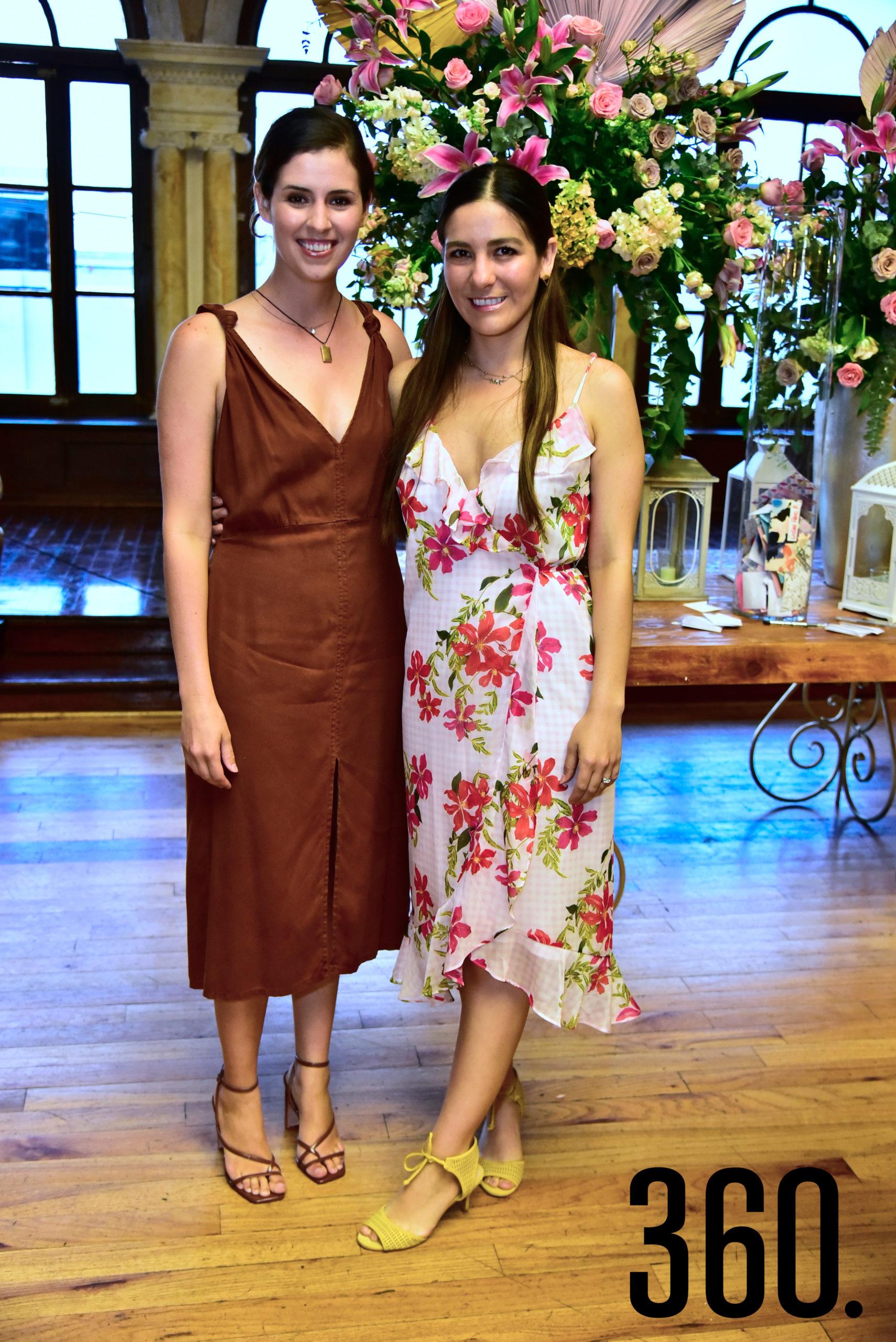 Sofía Herrera y María José Dávila.